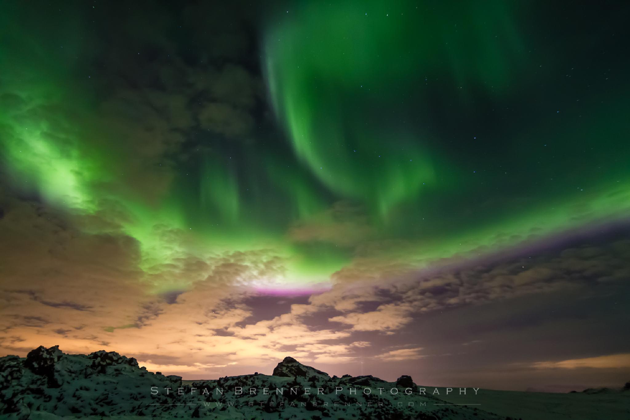 Aurora Gone Crazy by Stefan Brenner