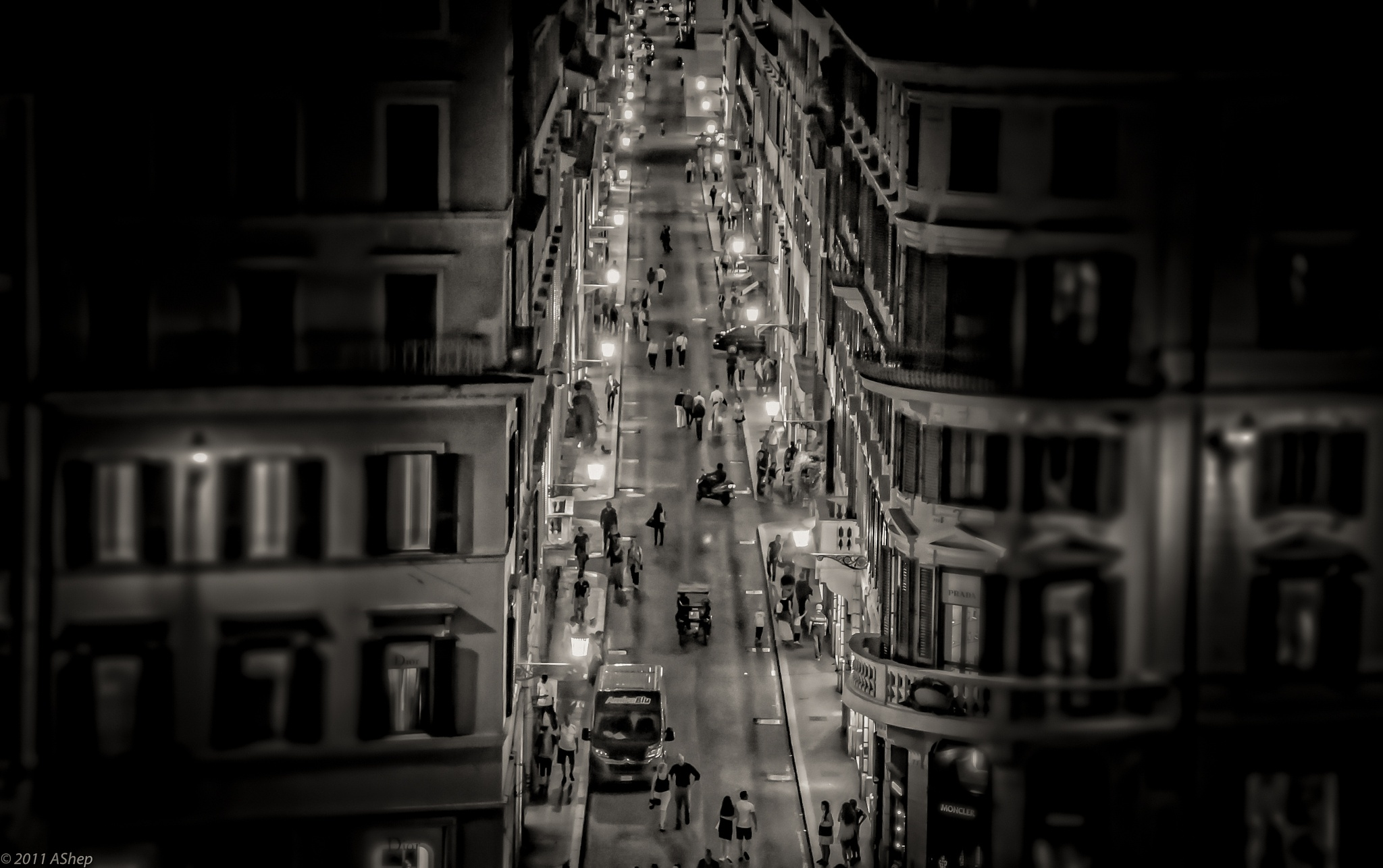 A street... by Andrii Shepeliev