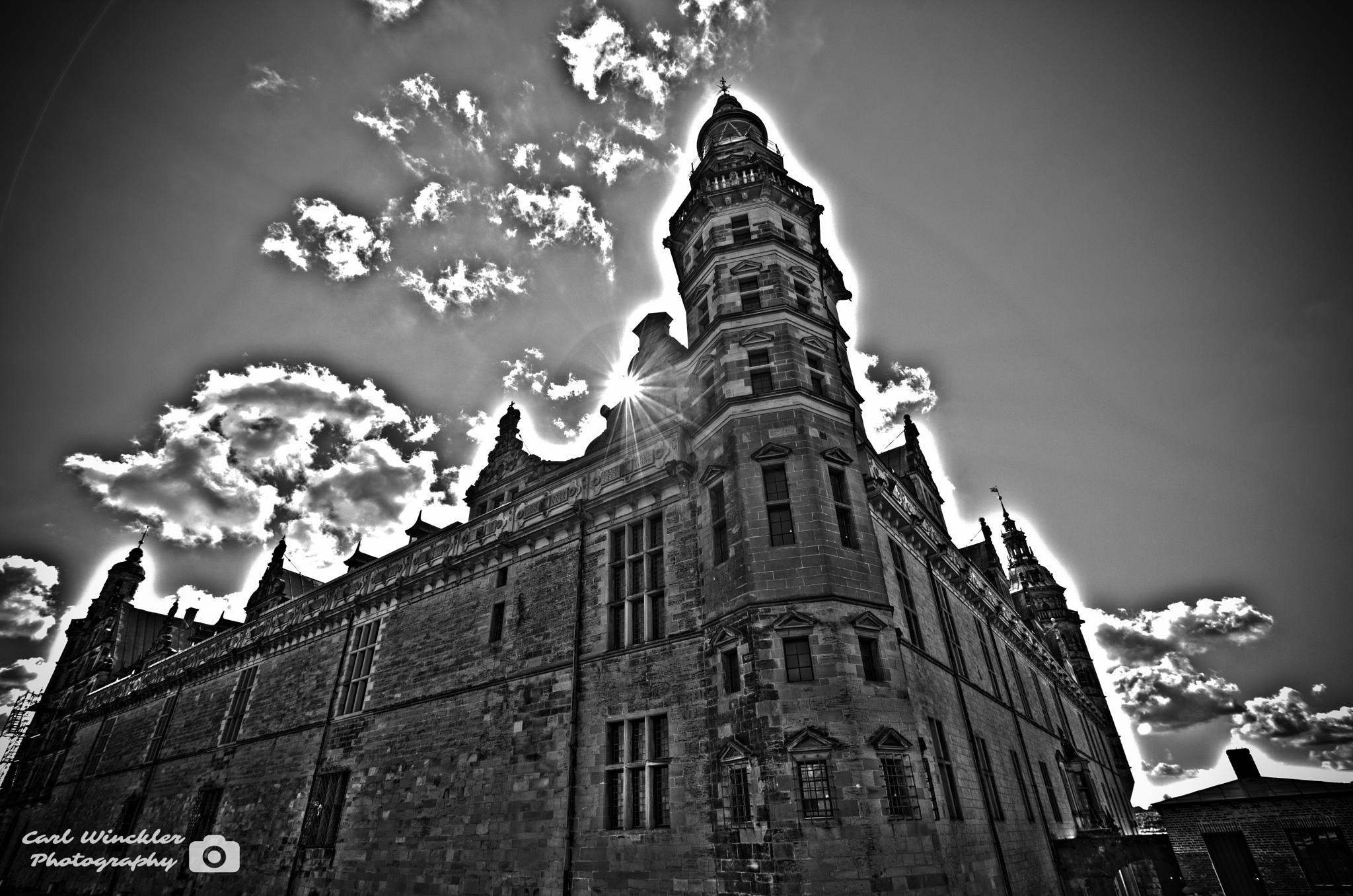 Photo in Architecture #hdr #black and white #b/w