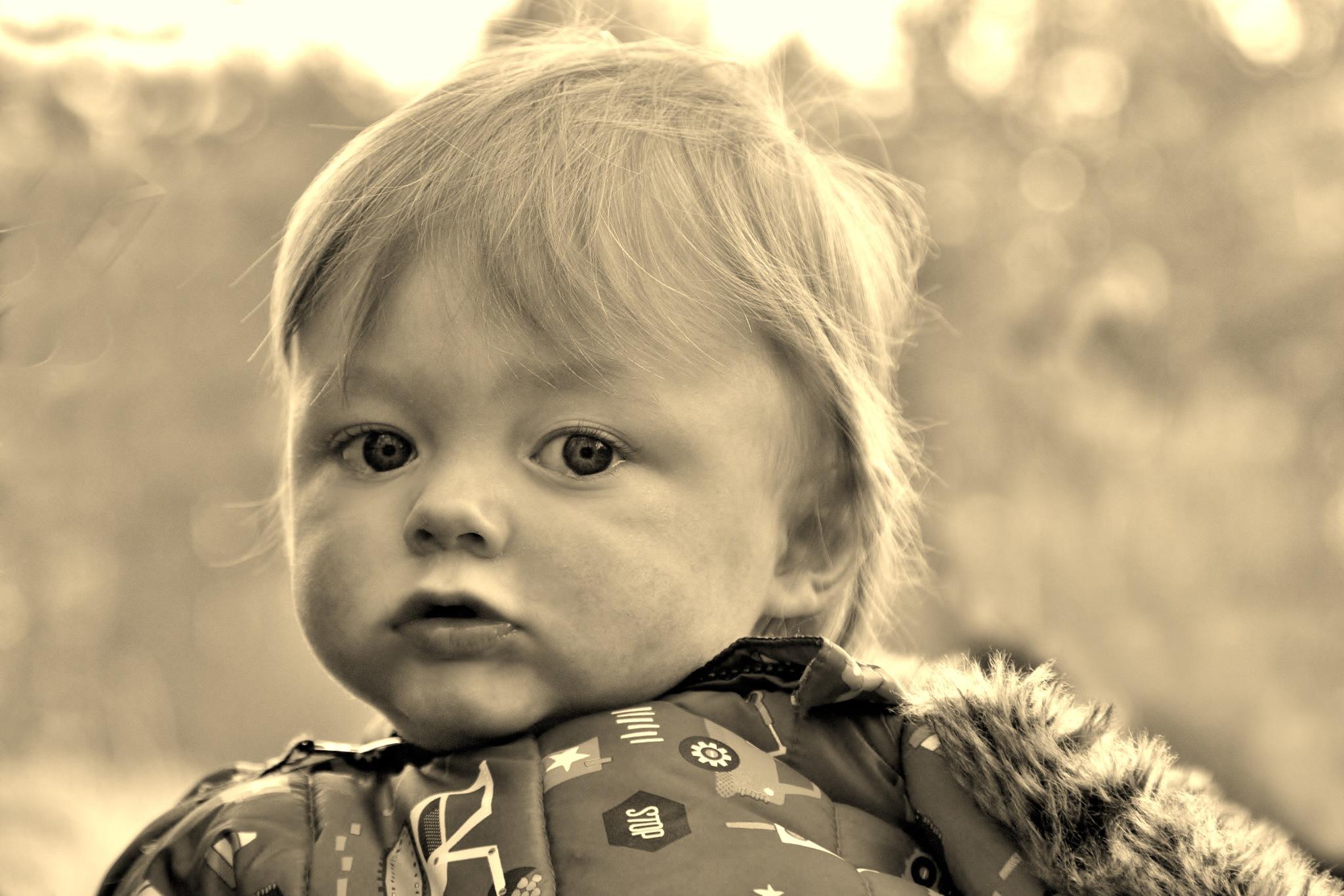 Grandson Ashley - Sepia by paul.hosker