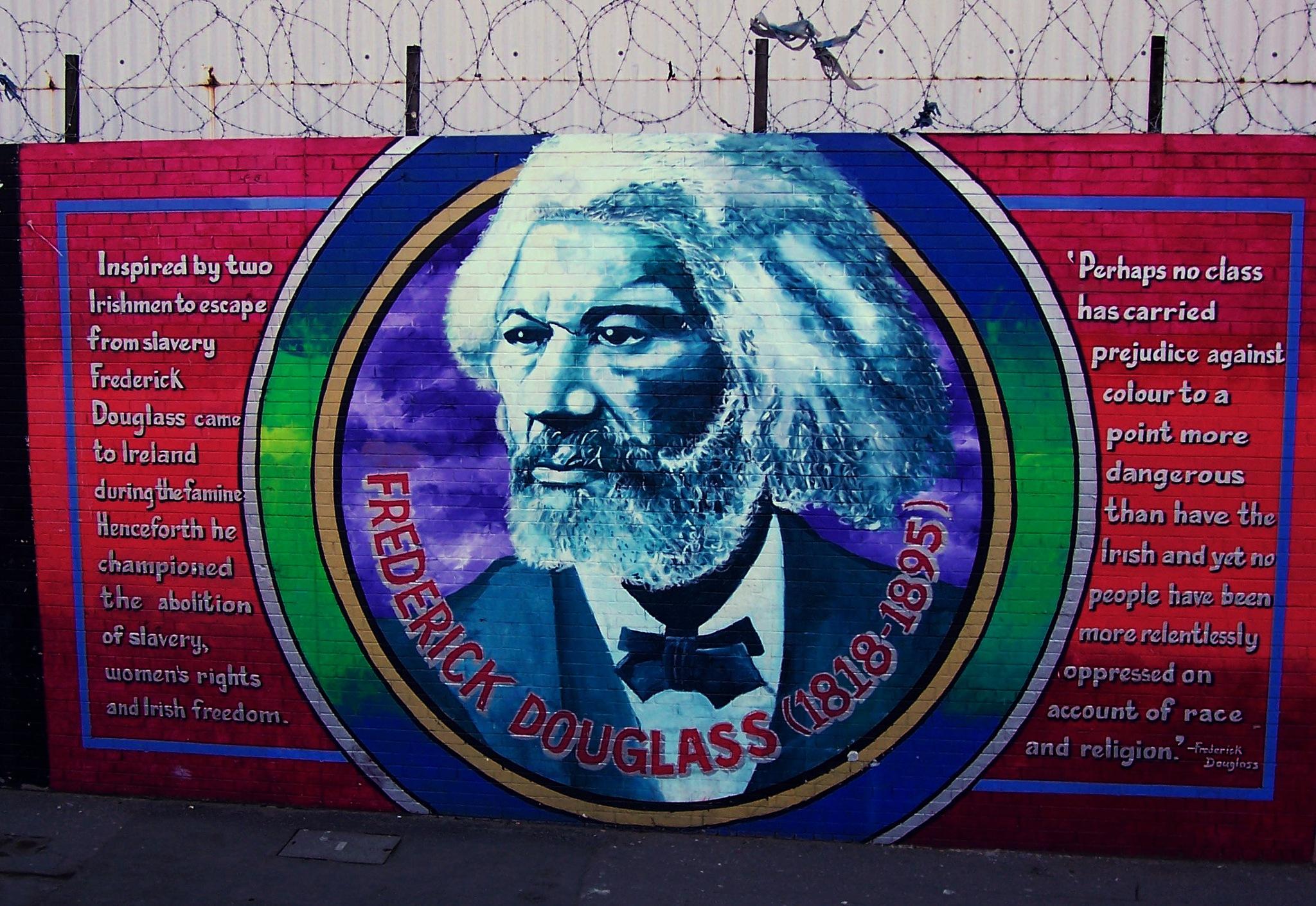 Frederick Douglas Mural - Belfast by paul.hosker