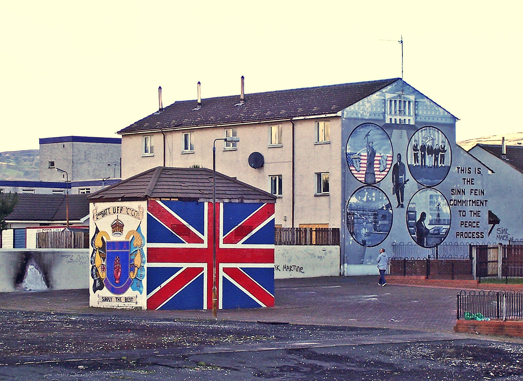 Mural's - An Historical View of Belfast by paul.hosker