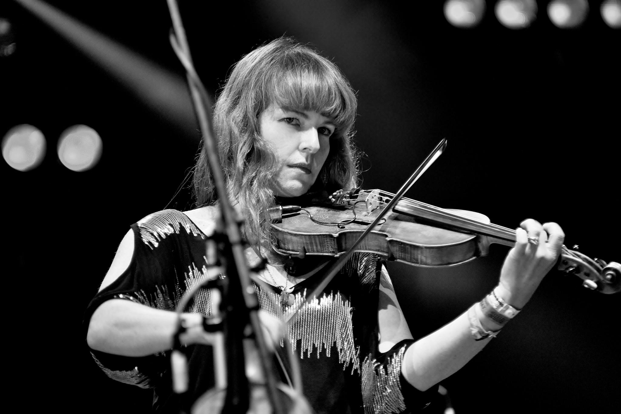 Shrewsbury Folk Festival - Sweet Music - Monochrome by paul.hosker