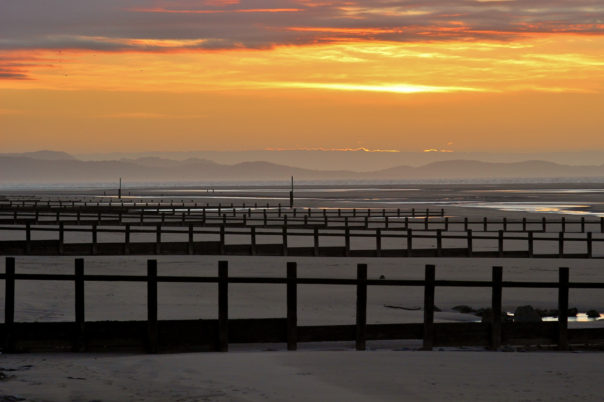Sundown - Rhyl - North Wales - Colour by paul.hosker
