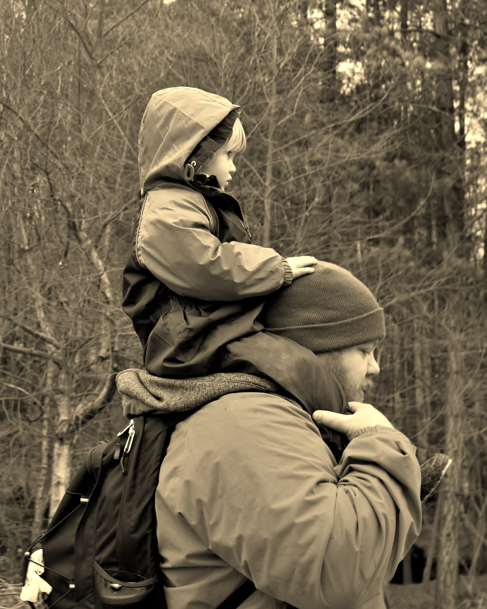 Being Dad - Sepia by paul.hosker