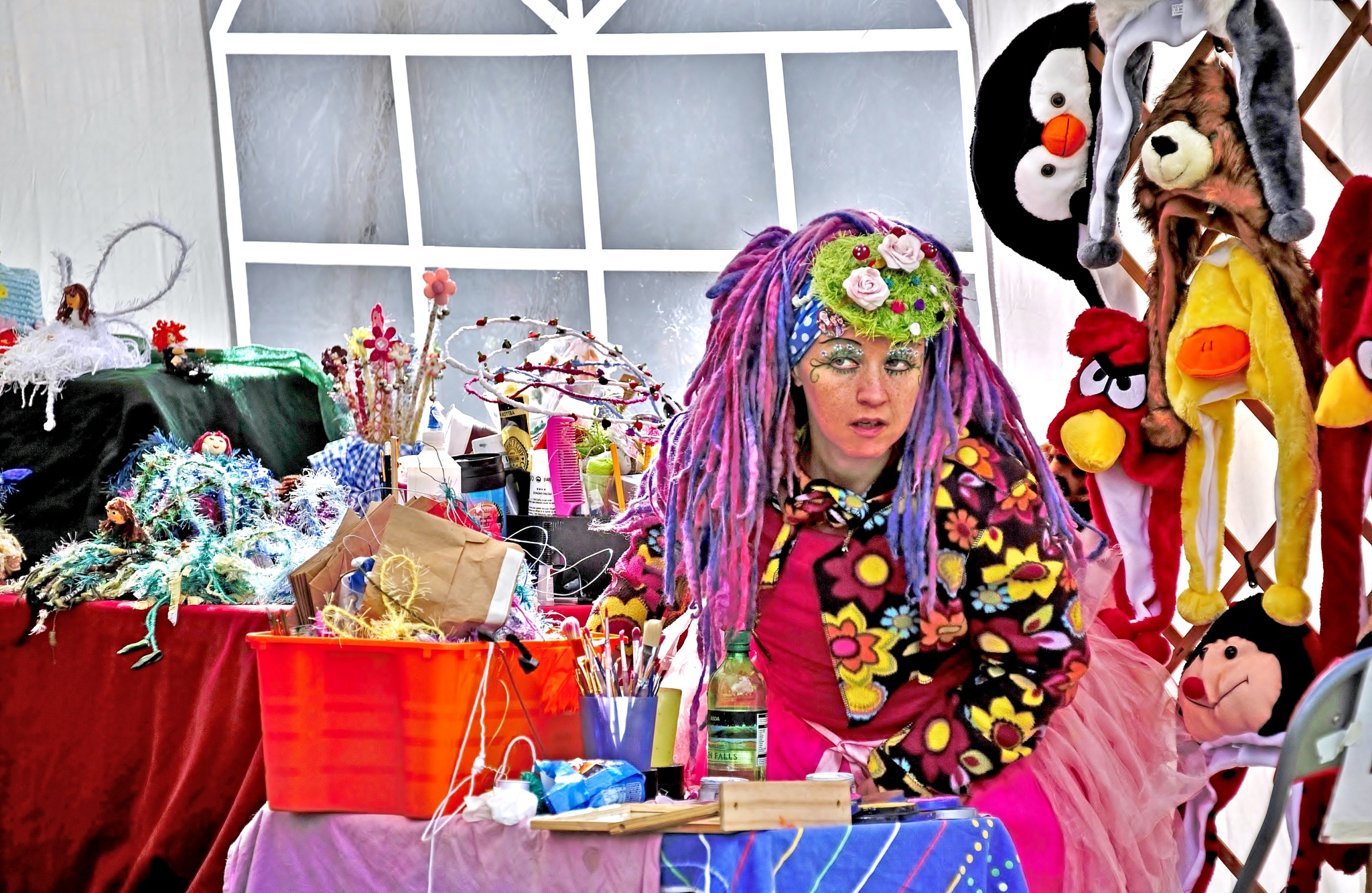 Fairy & Dream Seller - Shrewsbury Folk Festival - Colour by paul.hosker