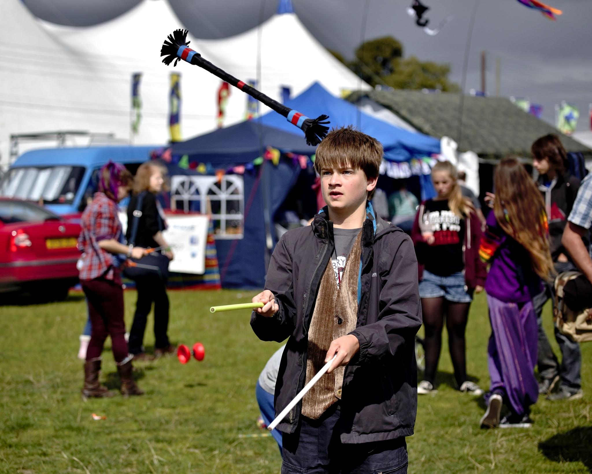 Boy - Juggling Stick  - Colour by paul.hosker