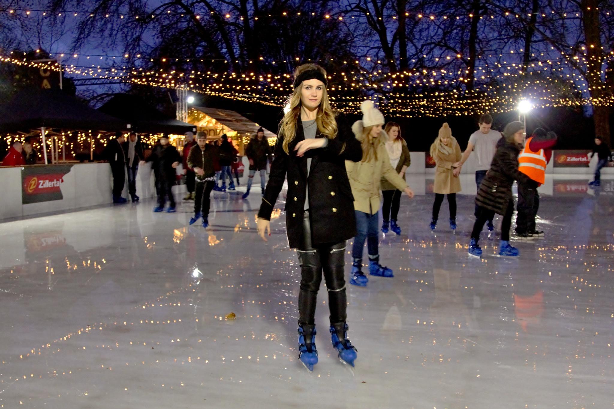 London - Hyde Park - Winterwonderland - Ice Skater - 02 - Colour by paul.hosker