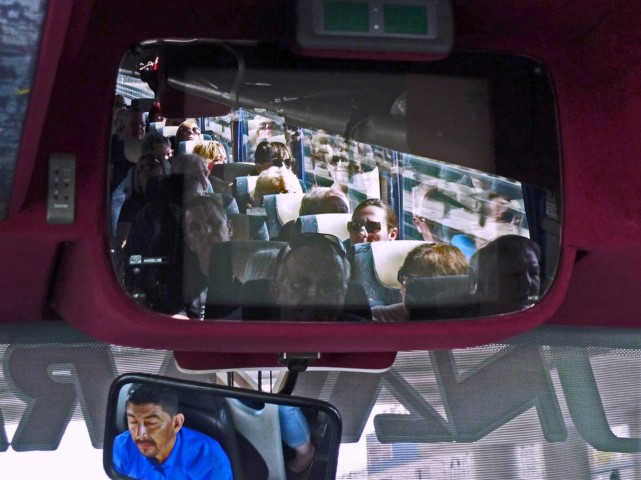 Coach Driver & Passengers - Colour by paul.hosker