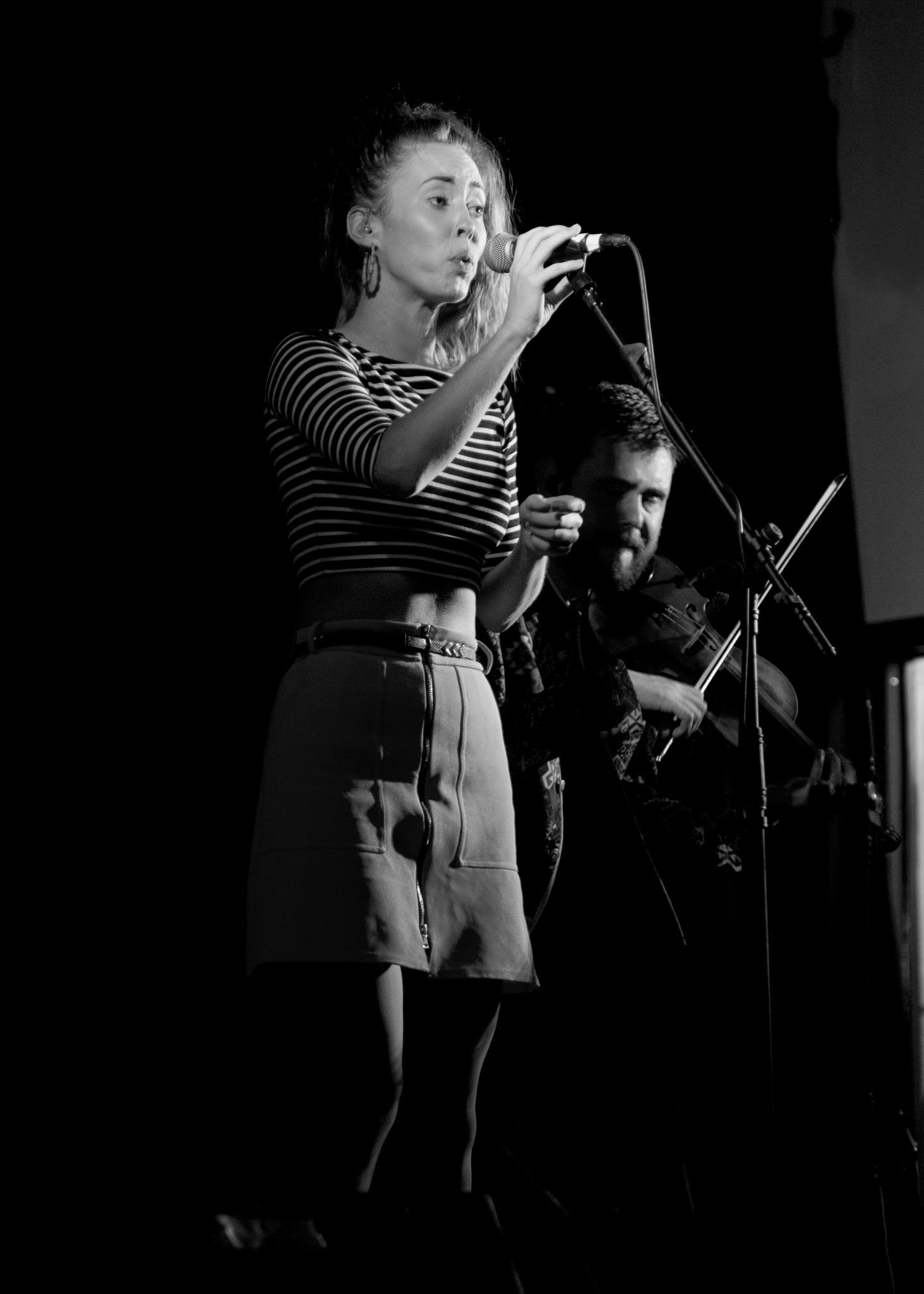 Bethan Williams-Jones - Calan - Folk at the Hall - Monochrome by paul.hosker