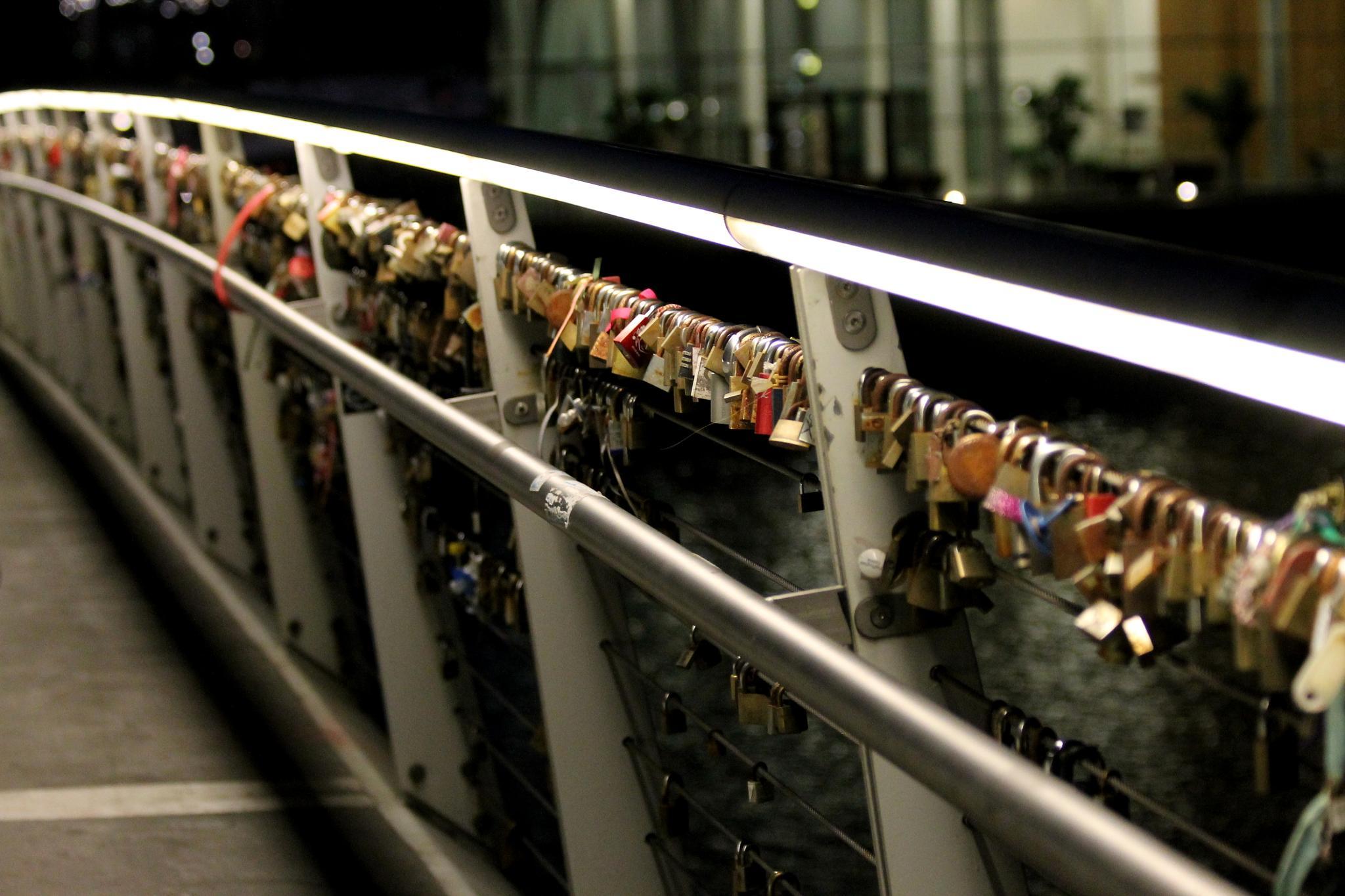 Love locks by mette.p.svendsen