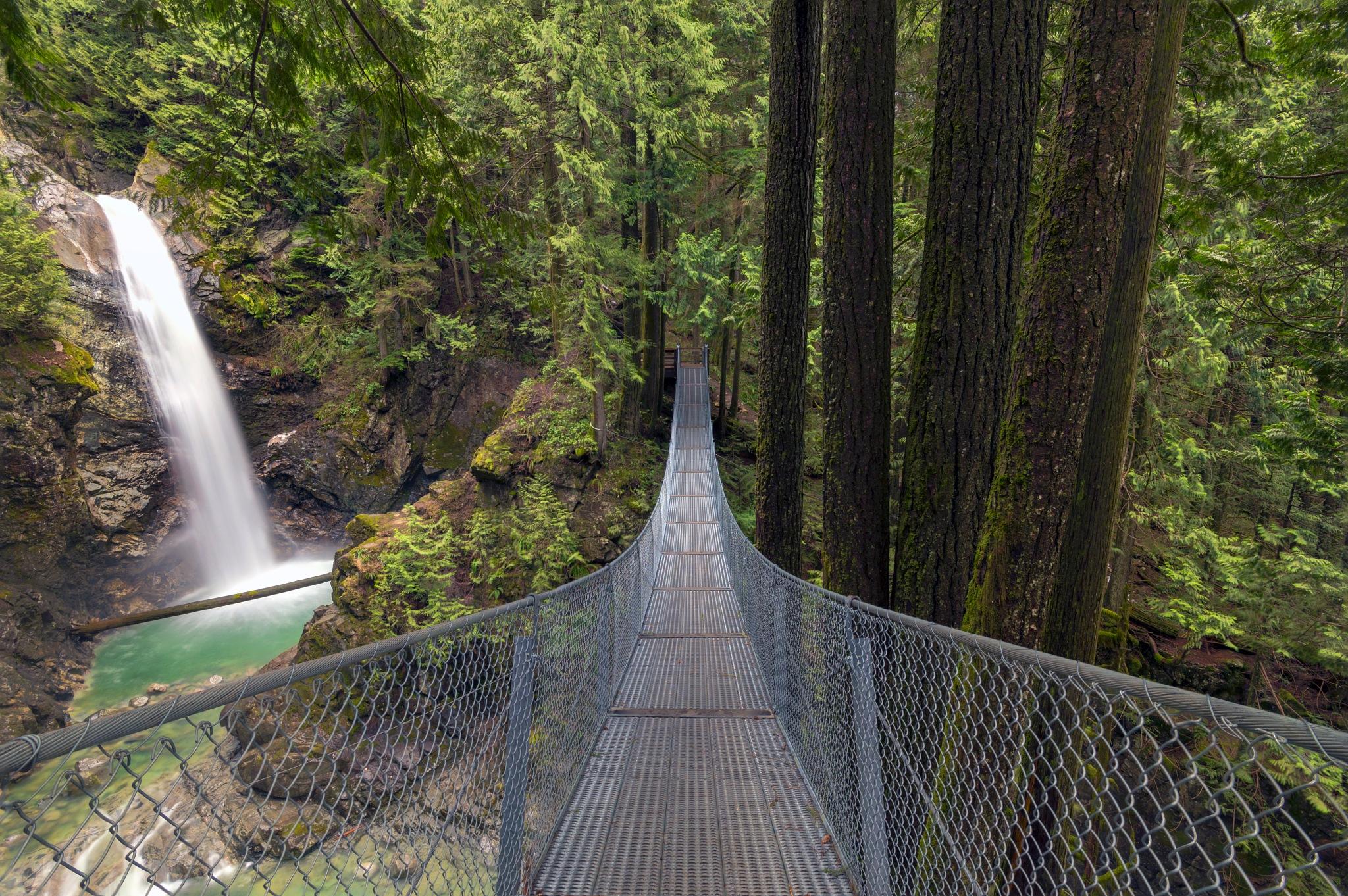 Cascade Falls by Jason Wilde