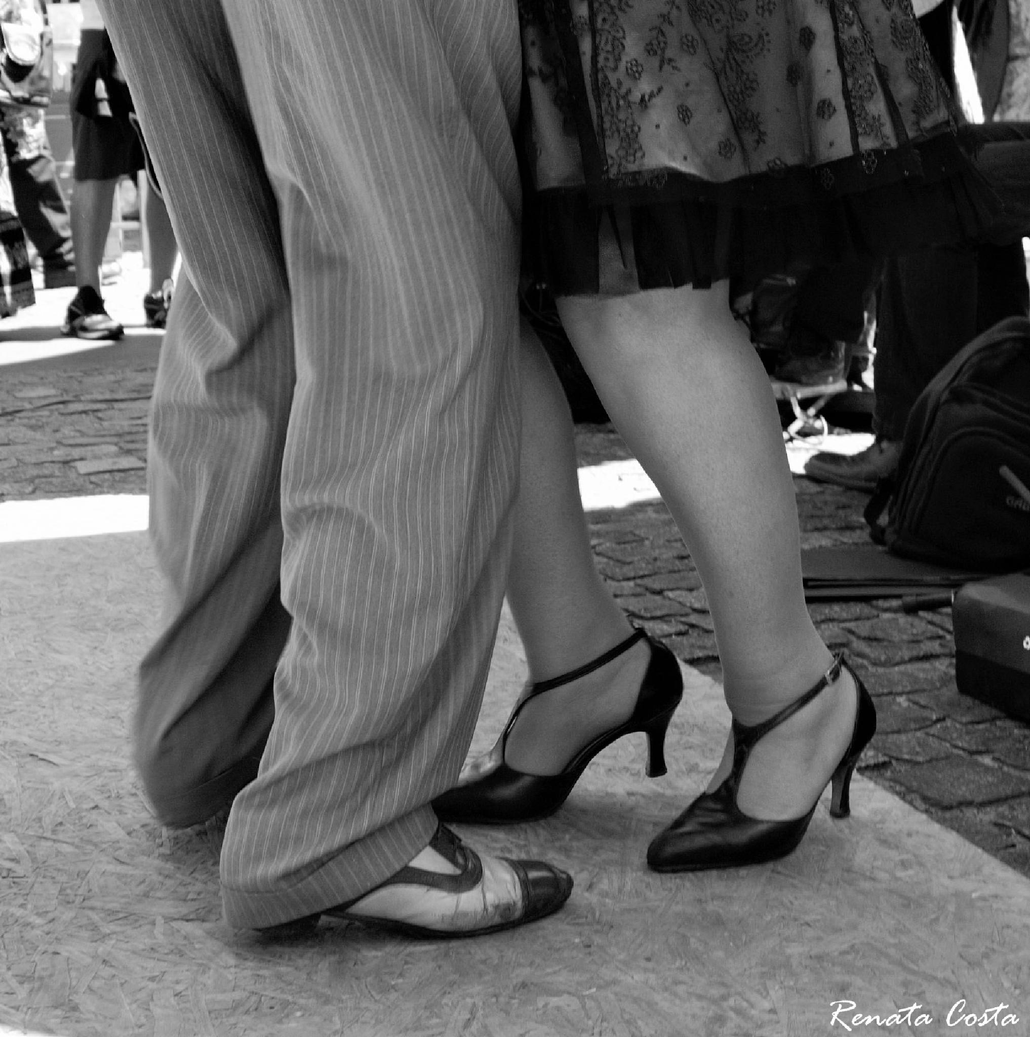 Tango in San Telmo by Renata Costa