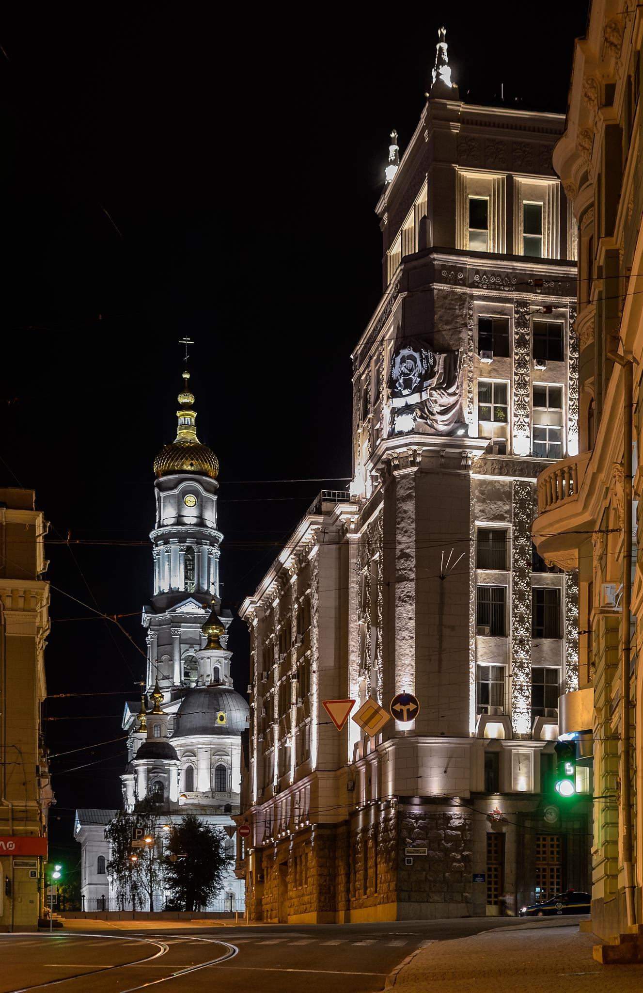 Town Hall and the City Council of Kharkov. Ukraine by Igor Nayda