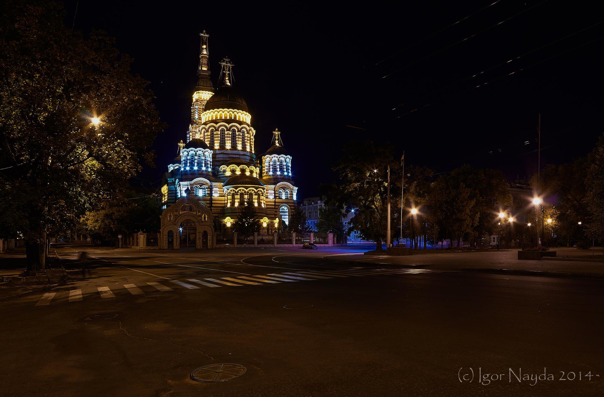 Cathedral of the Annunciation. Kharkov. Ukraine by Igor Nayda