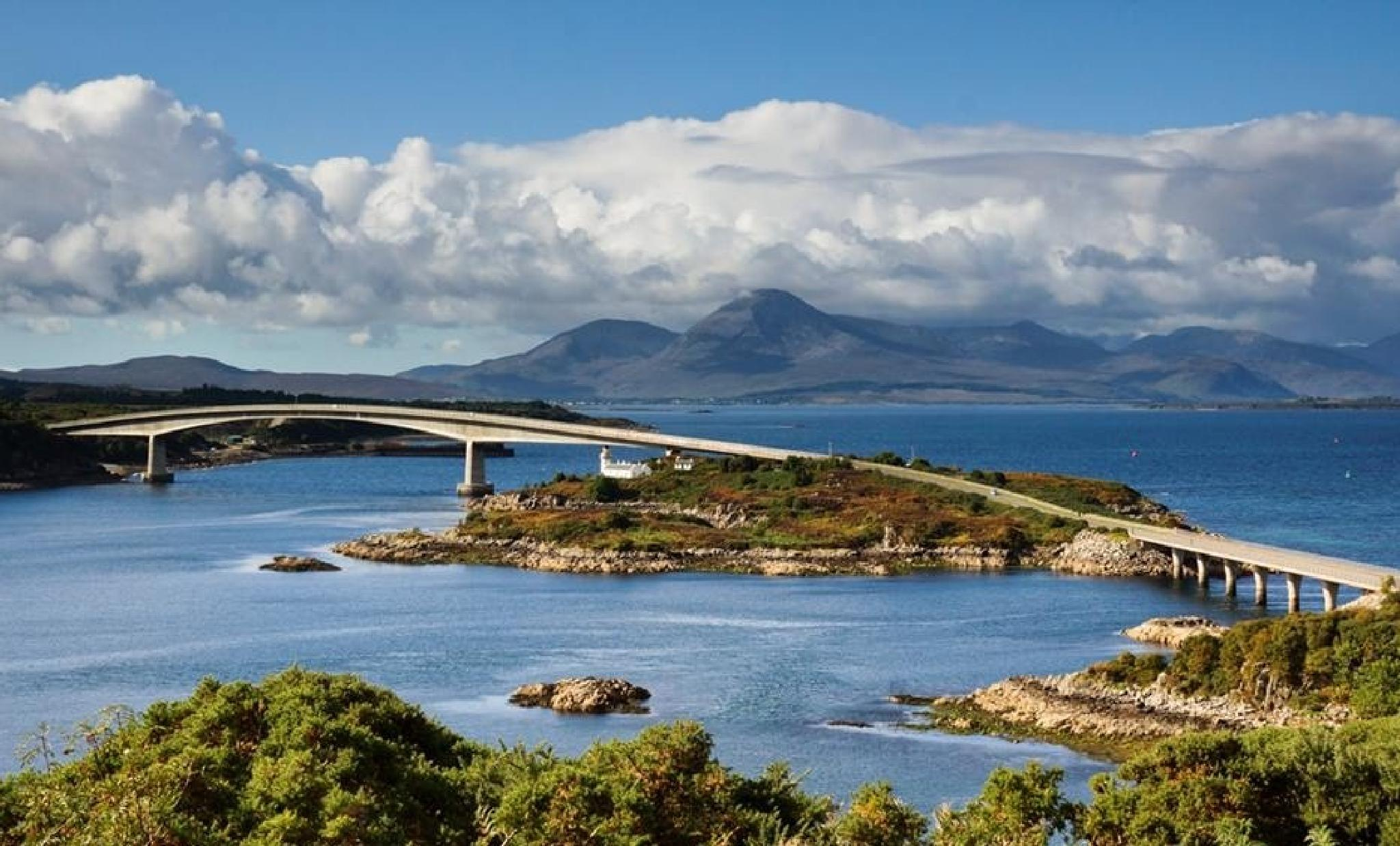 Skye Bridge and the Cuillins by Scottish Landscapes