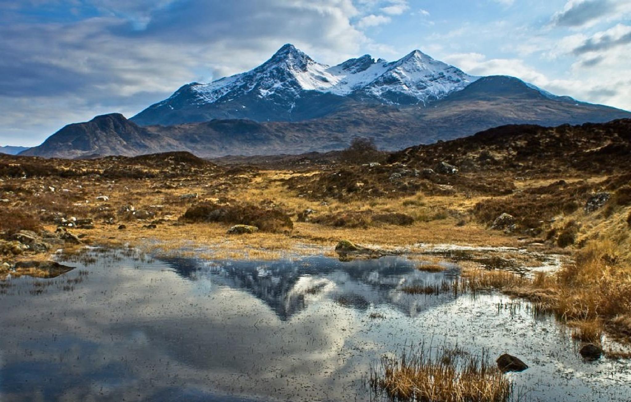 Sgurr nan Gillean, Isle of Skye by Scottish Landscapes