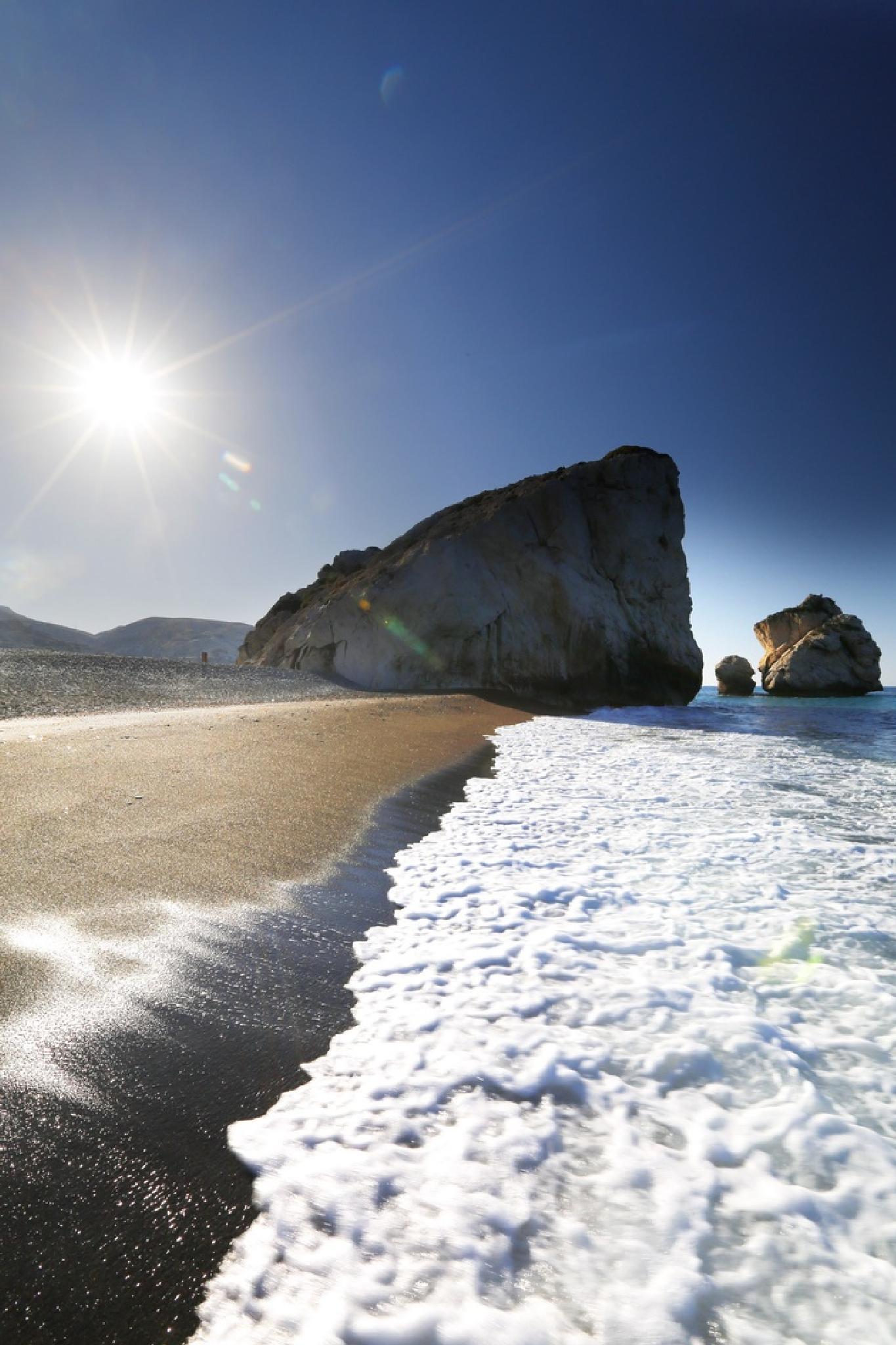 Aphrodites Rocks Cyprus by sylvaan.teunissen.338
