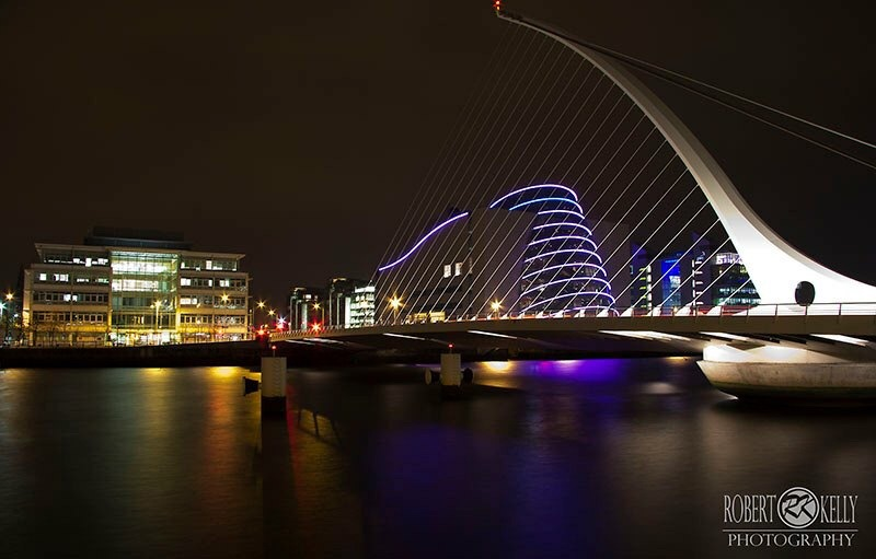 Dublin by night  by Robert Kelly Photography