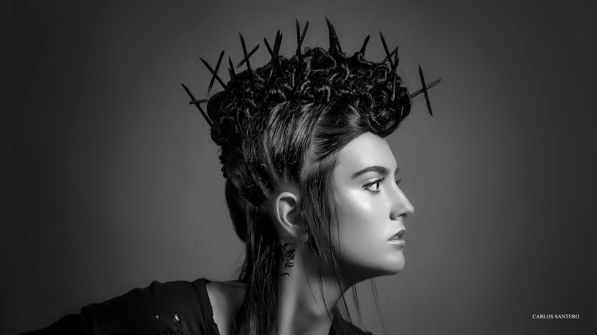 Hairstyle by Carlos Santero