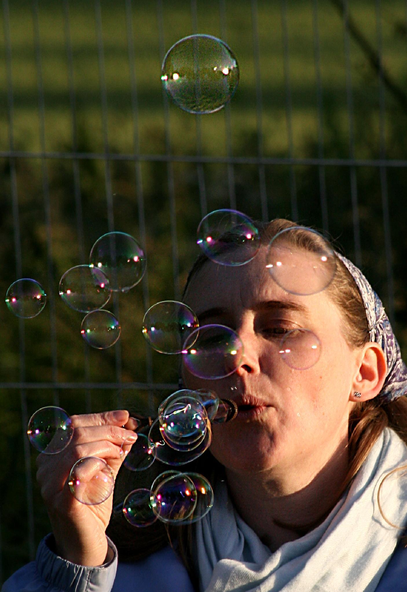 Bubbles by David R Murphy