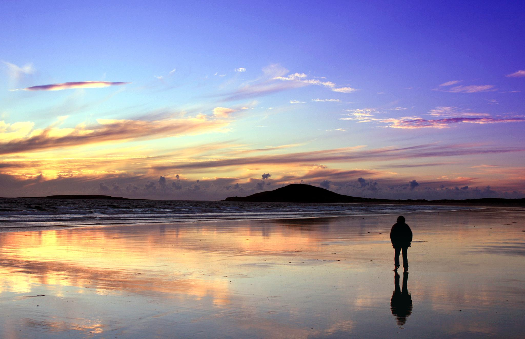 Sligo Sunset by David R Murphy