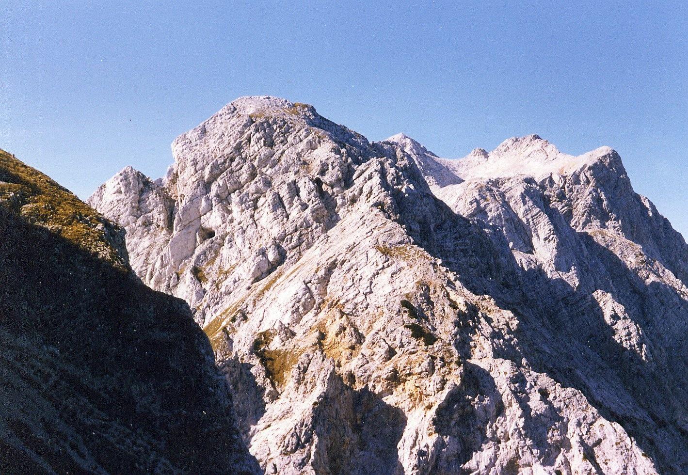 TURSKA GORA 2251m, Kamniške alpe 1990.10.05 by zvnktomasevic