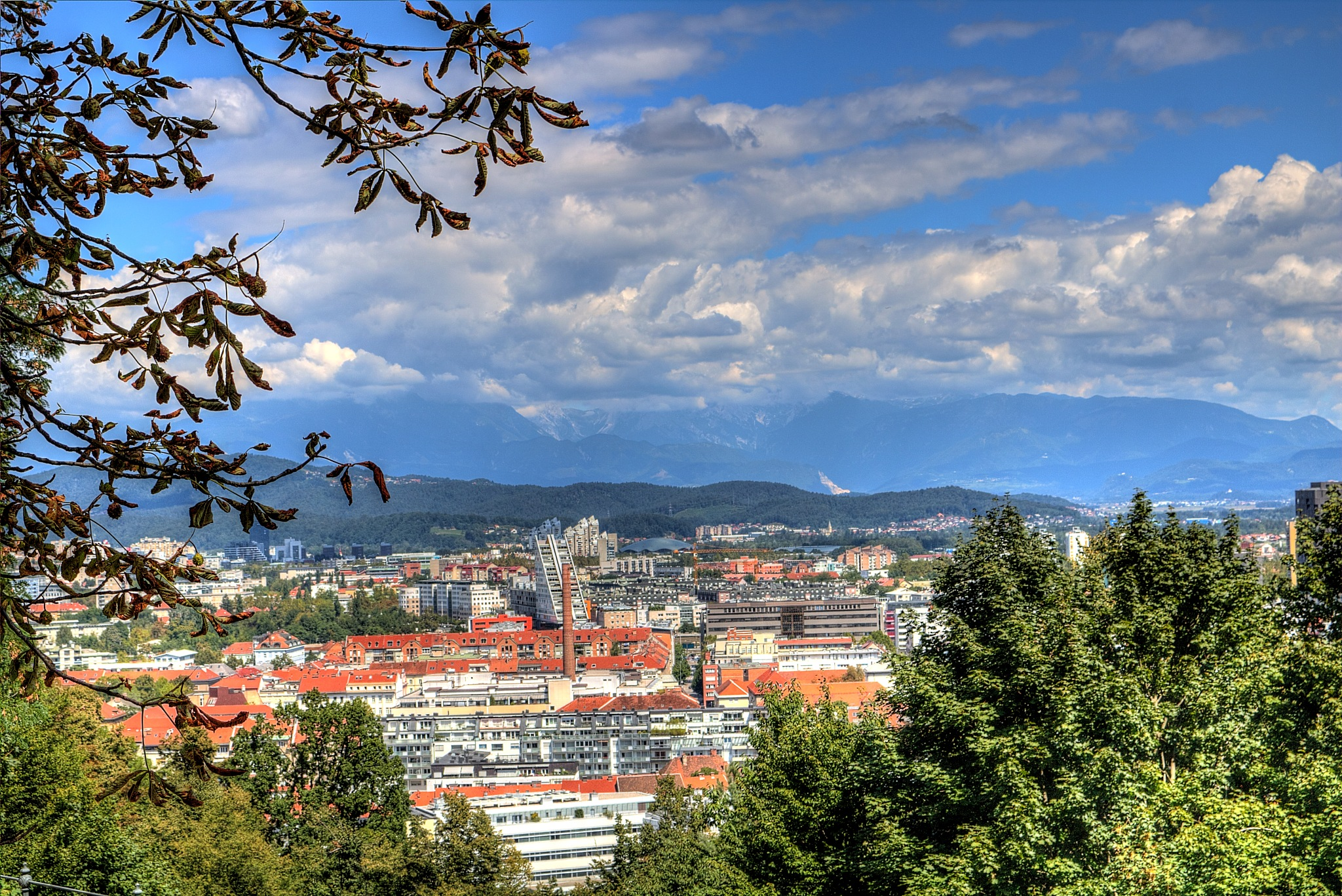 Panorama Ljubljana by zvnktomasevic