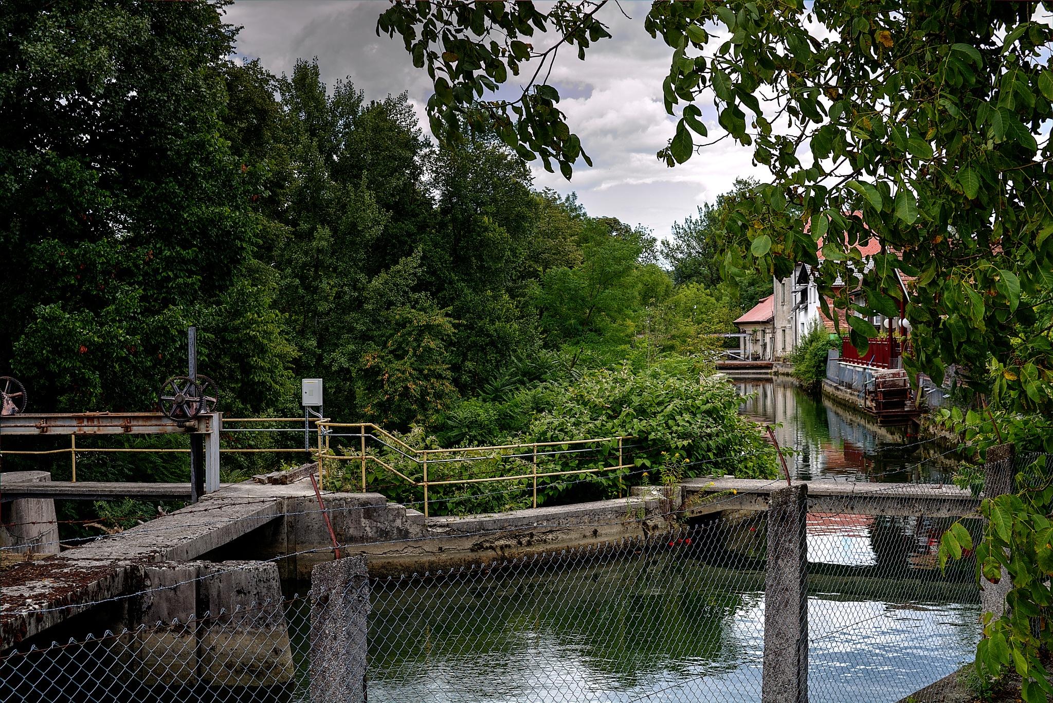 River Ljubljanica, Fužine by zvnktomasevic