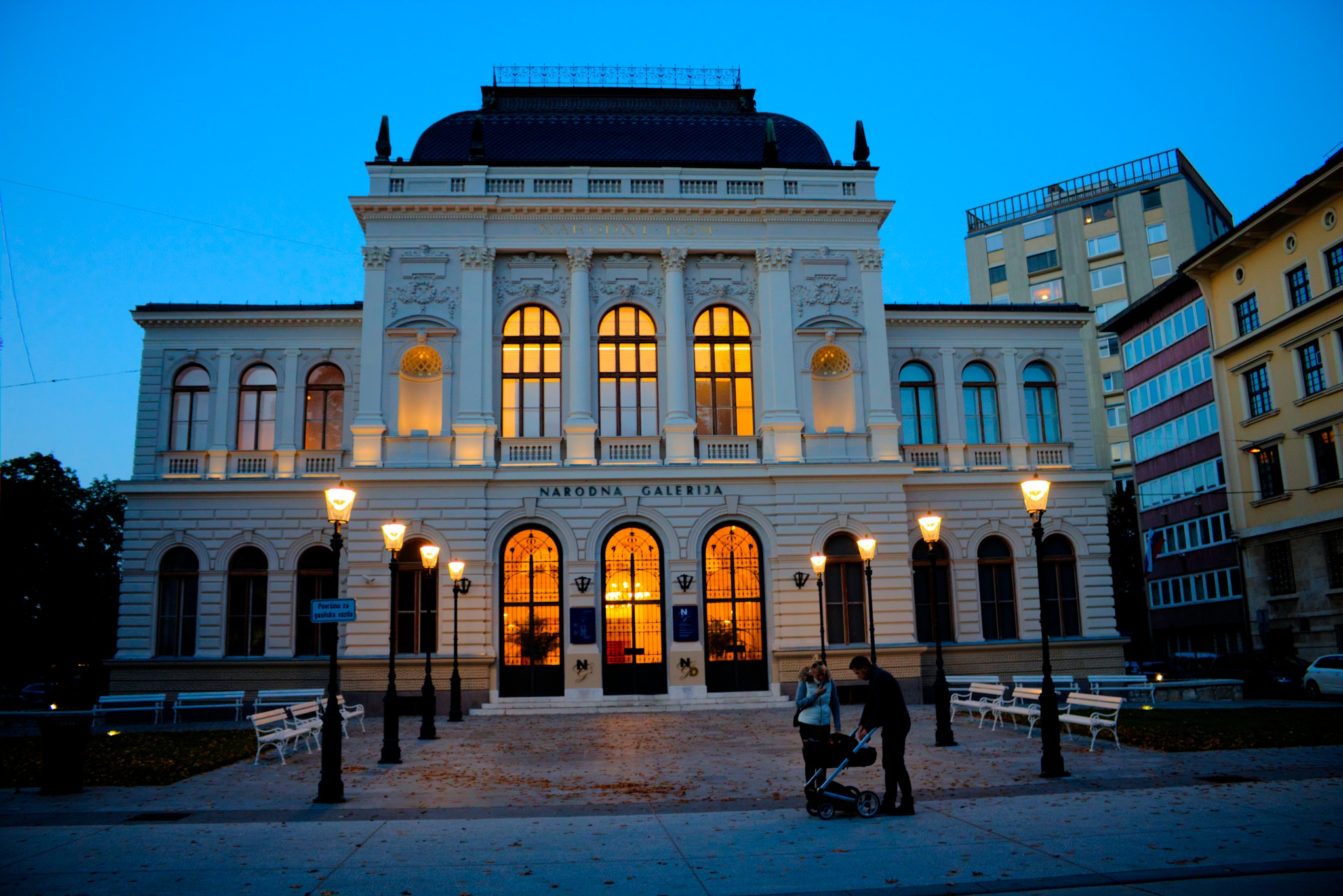 National gallery , Ljubljana (CR2) by zvnktomasevic