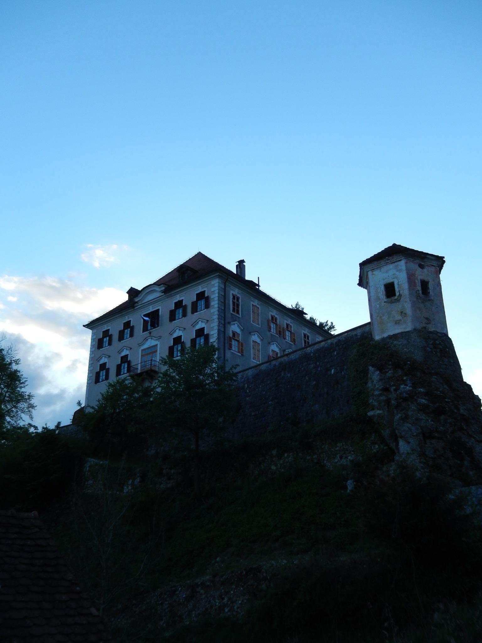 Zaprice Castle (Kamnik) by zvnktomasevic