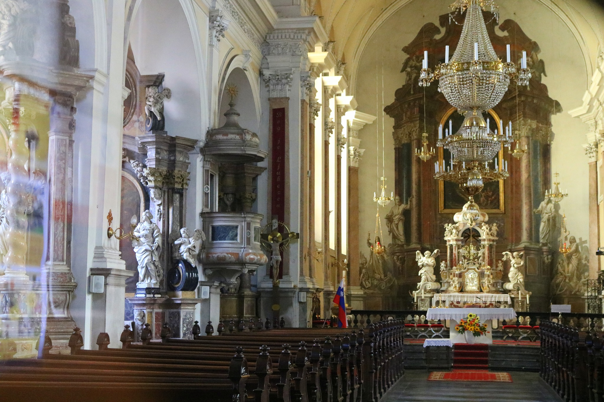 St. James' Church, Ljubljana, Slovenia by zvnktomasevic