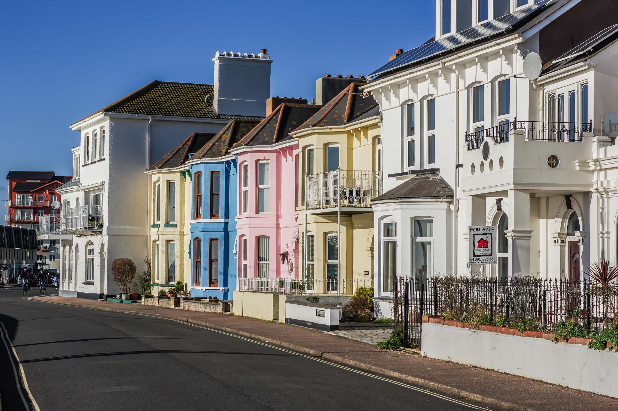 Exmouth Terrace by Paul Newman
