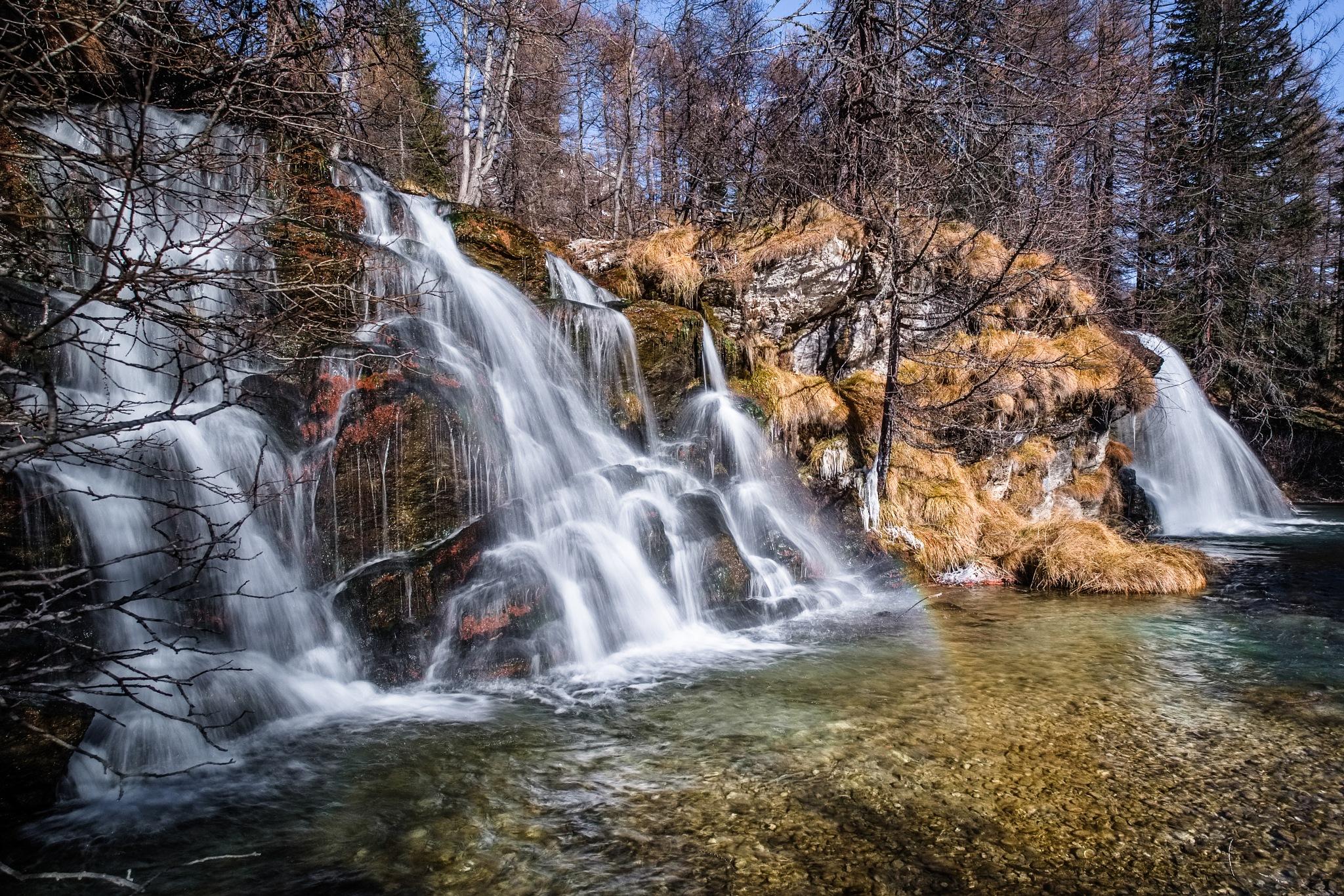 Alpe Devero Falls by Paul Newman