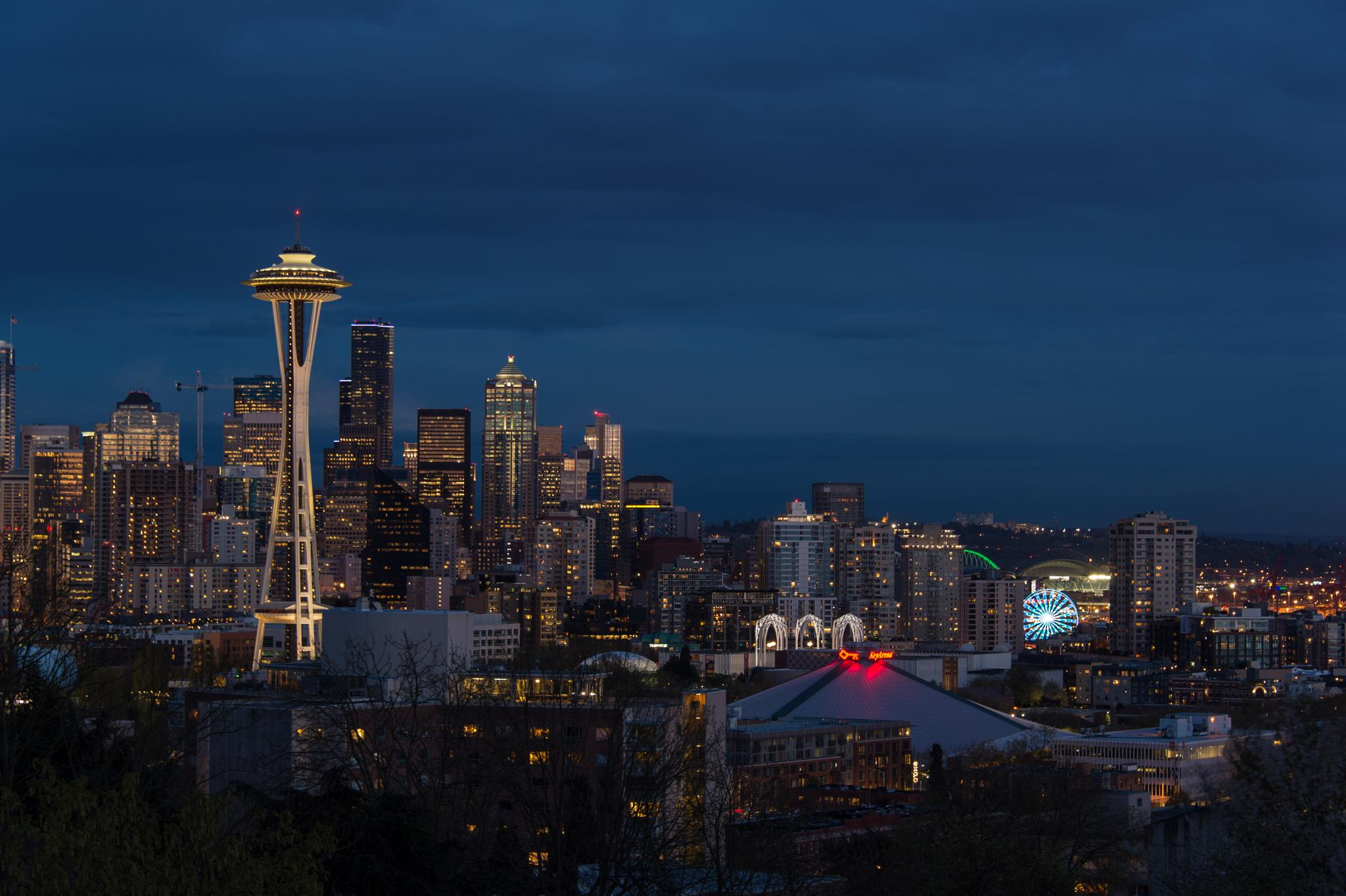 Seattle Skyline by stanley.leary