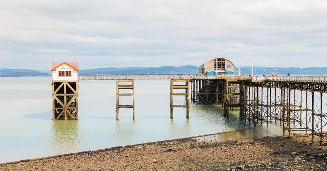 mumbles pier by debra godwin