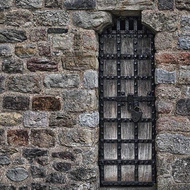 walled gate by debra godwin