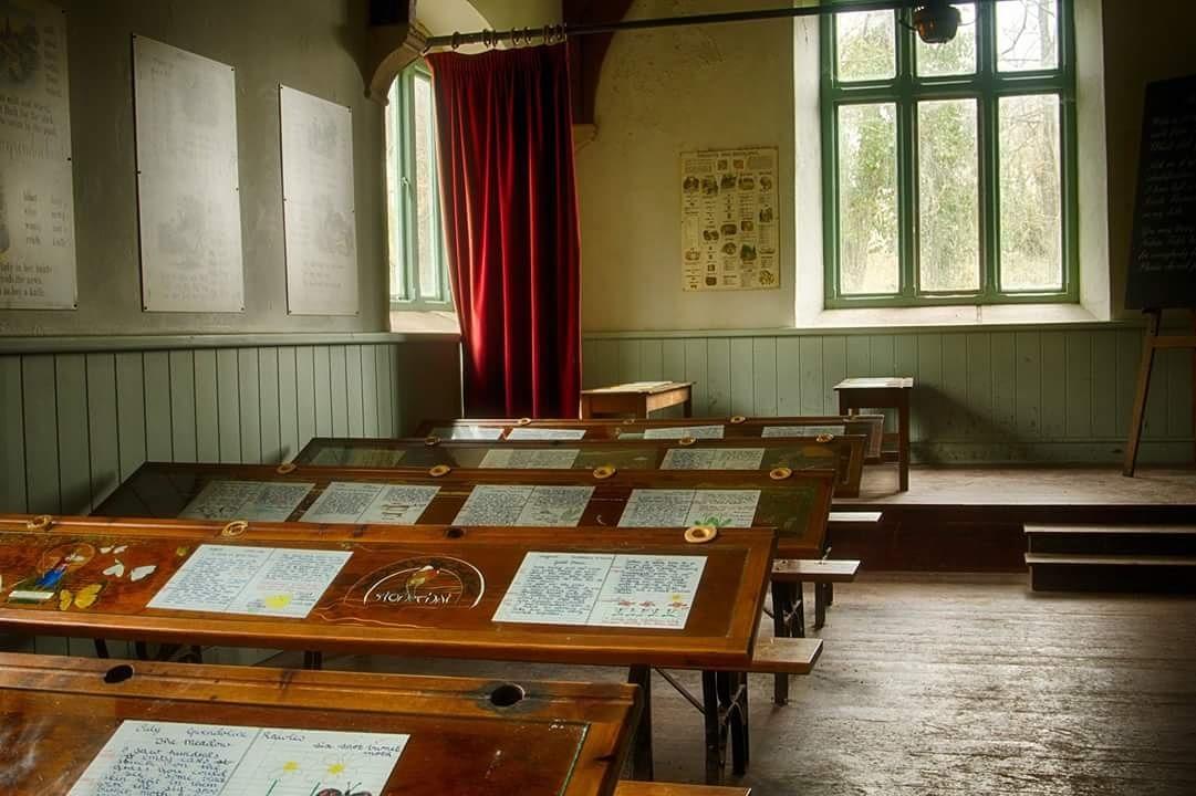 school room by debra godwin