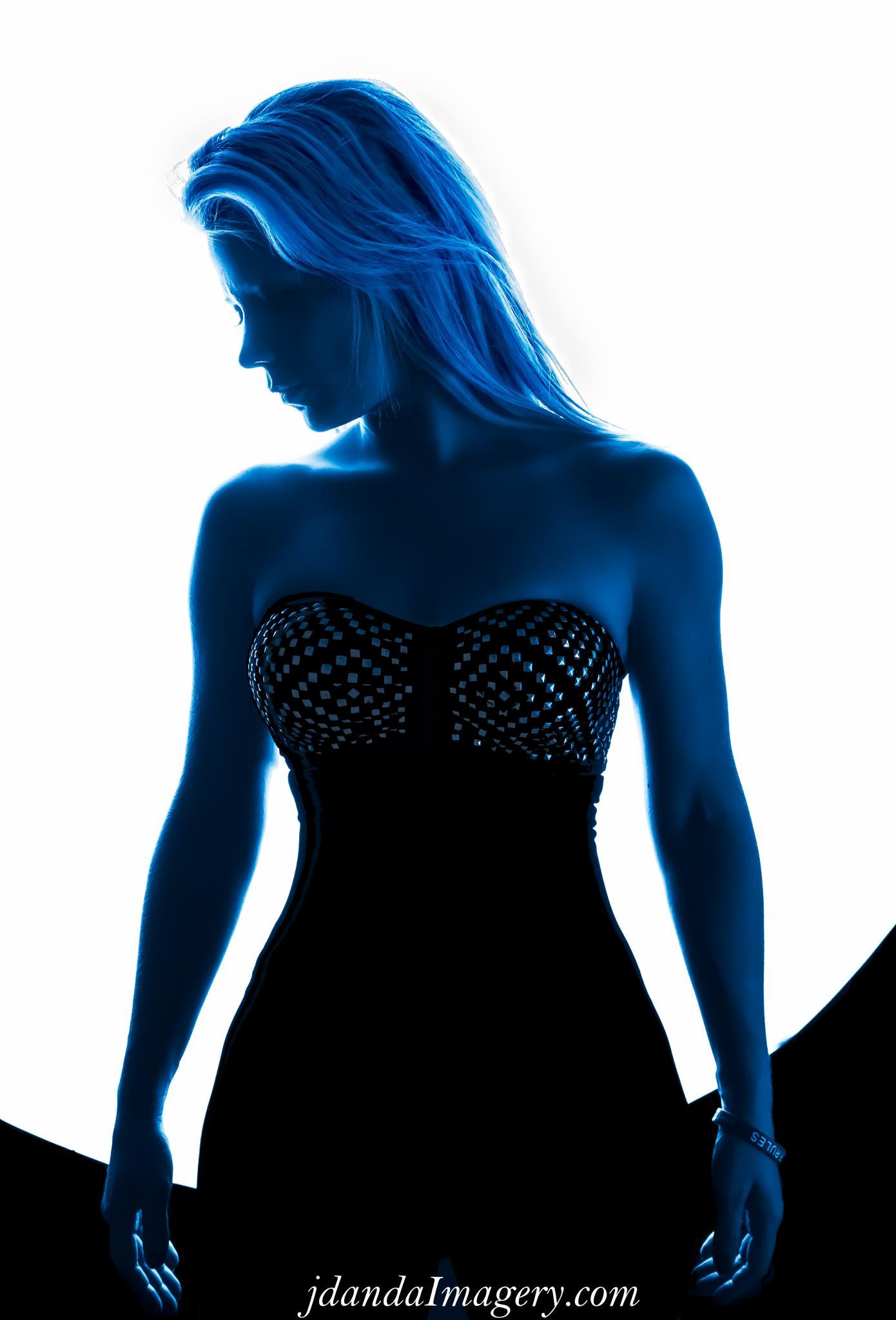 Blue Lady by jdandaImagery