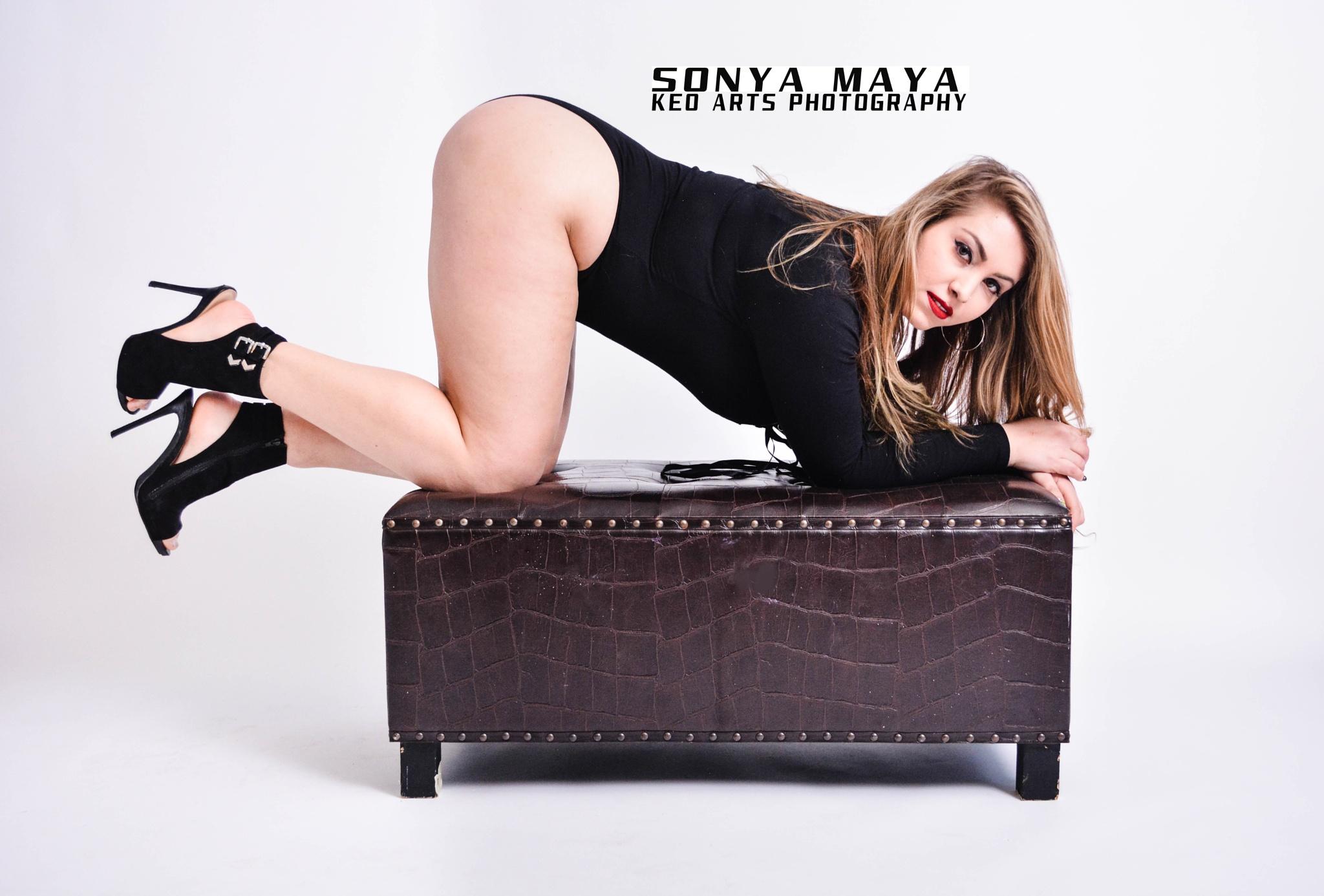 Sonya sexy indoor shoot  by Keo Arts Photography