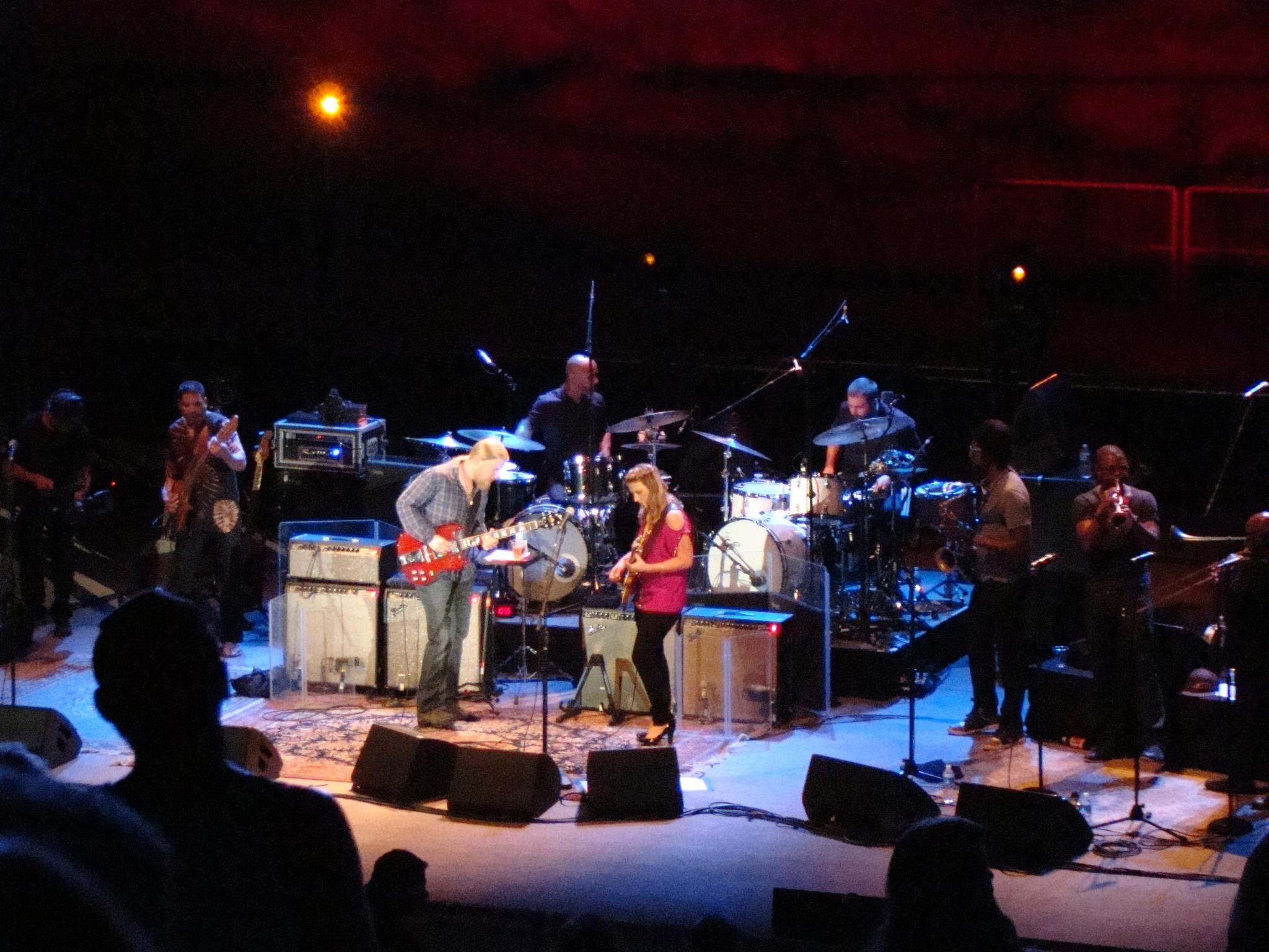 Tedeschi Trucks Band by Catherine Carver