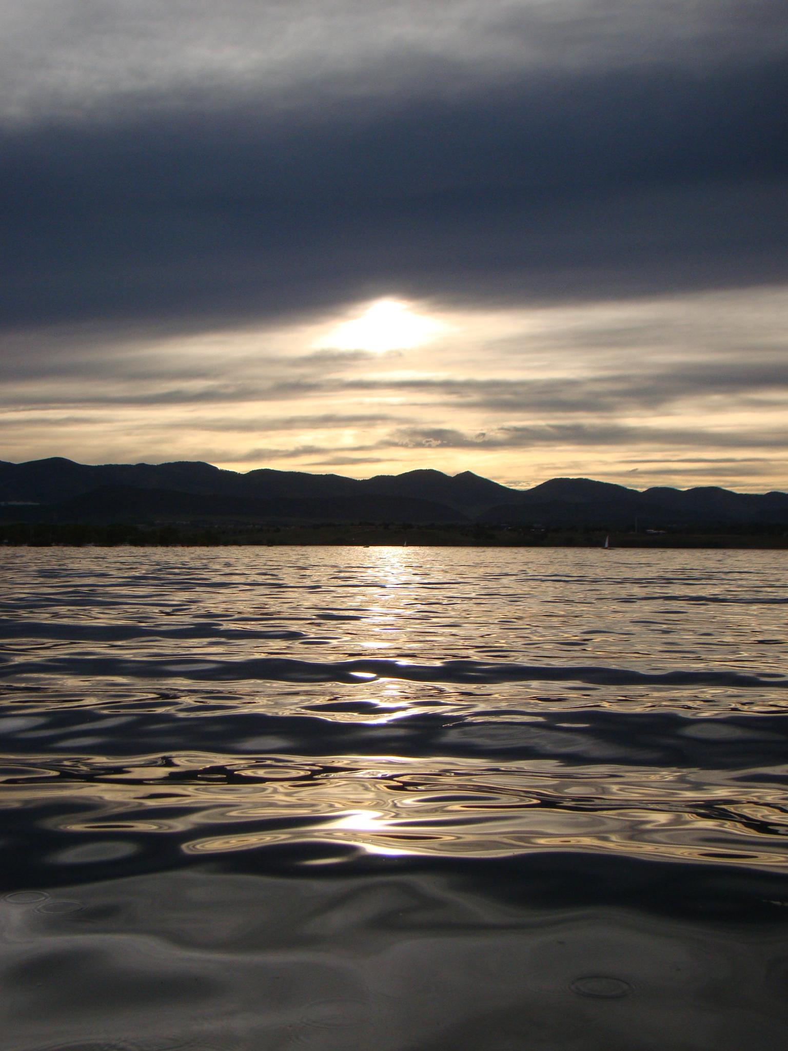 Sunlight on Water by Catherine Carver