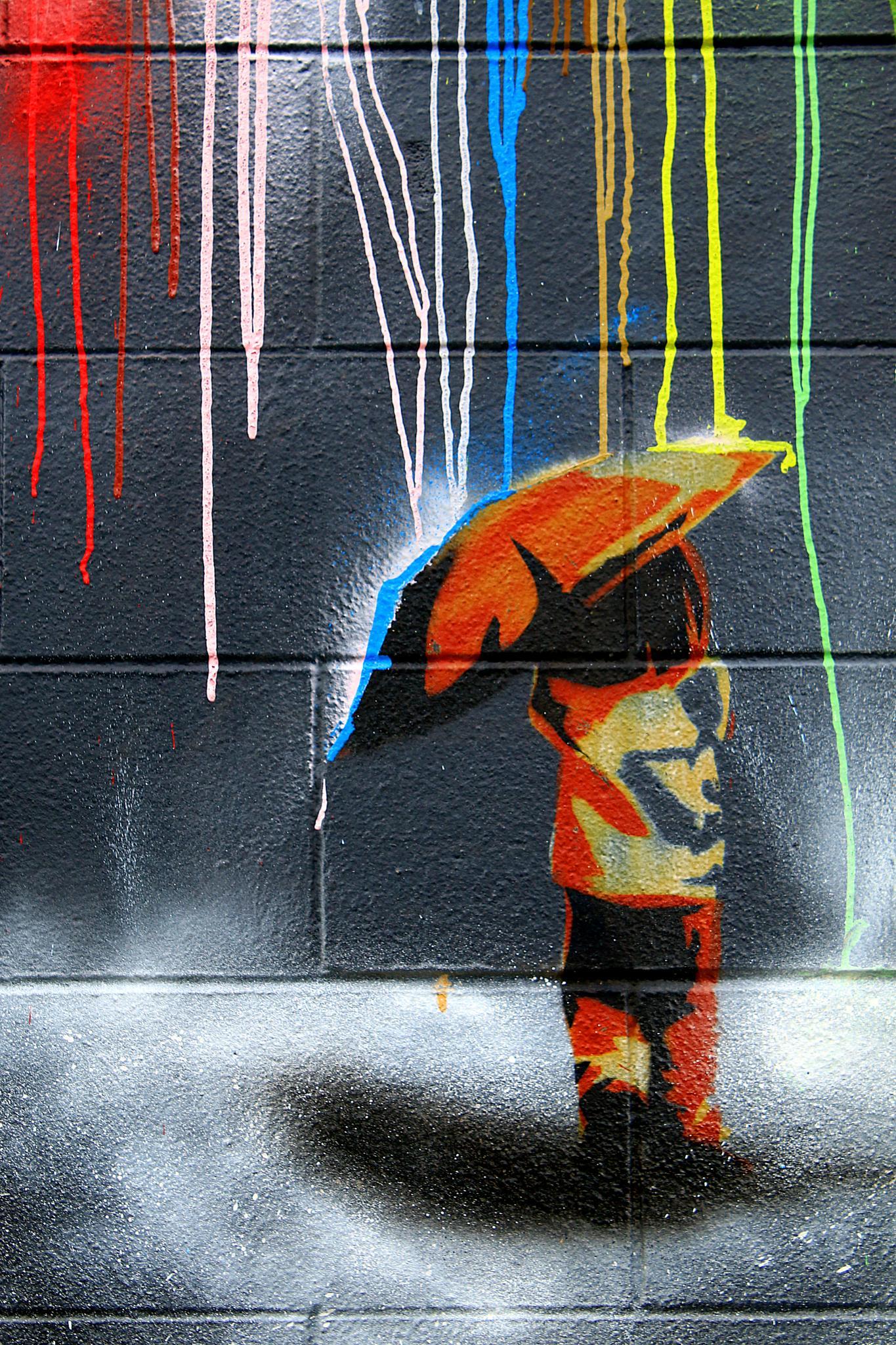 Street Art - Mural by Phil Le Cren