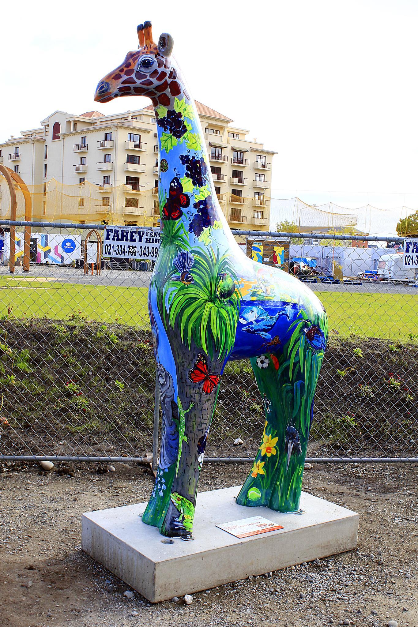 Christchurch Stands Tall Giraffe Sculptures (14) by Phil Le Cren