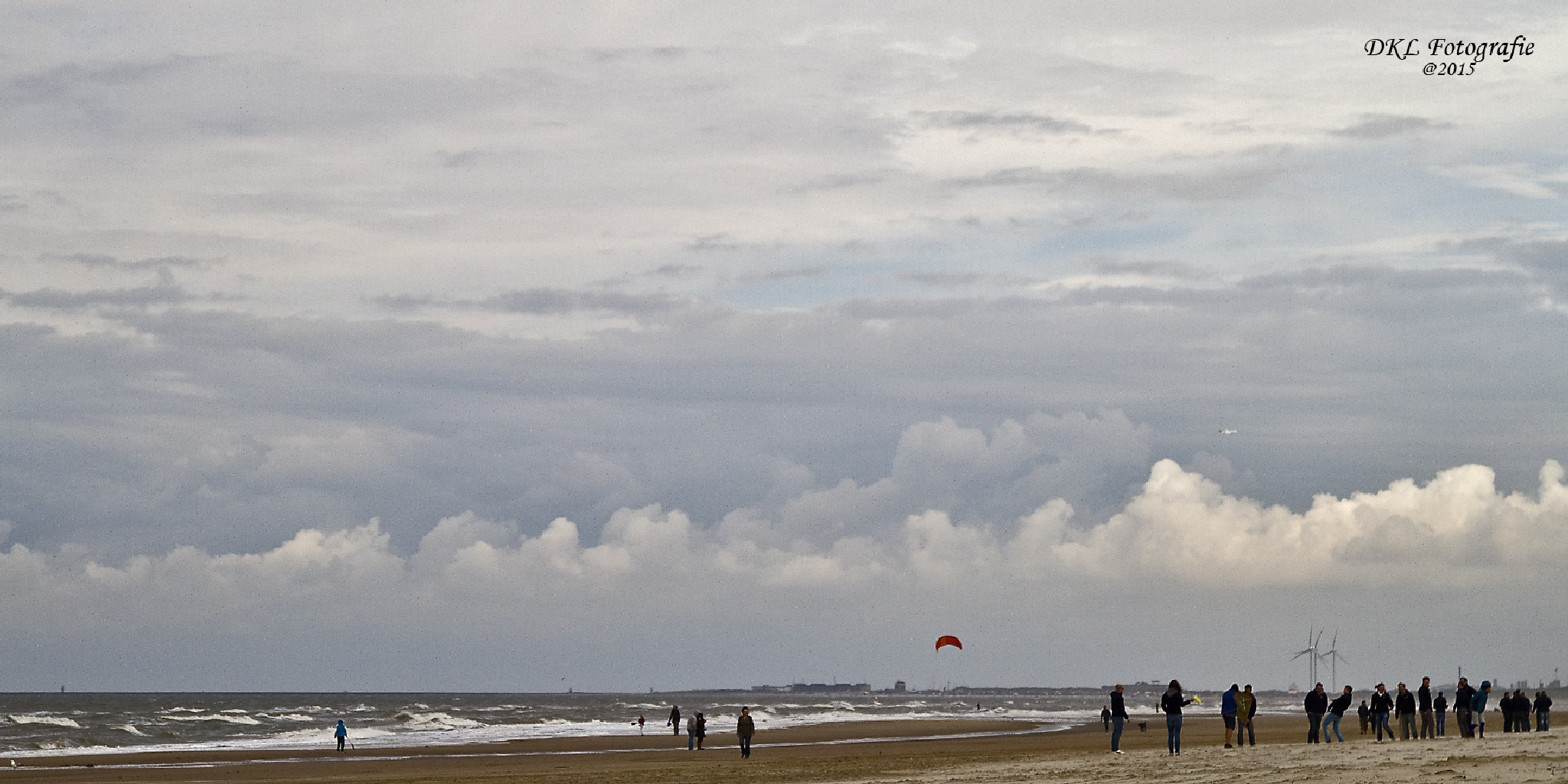 Dutch seaside with beautiful skies by danielle.klaveroverdijk