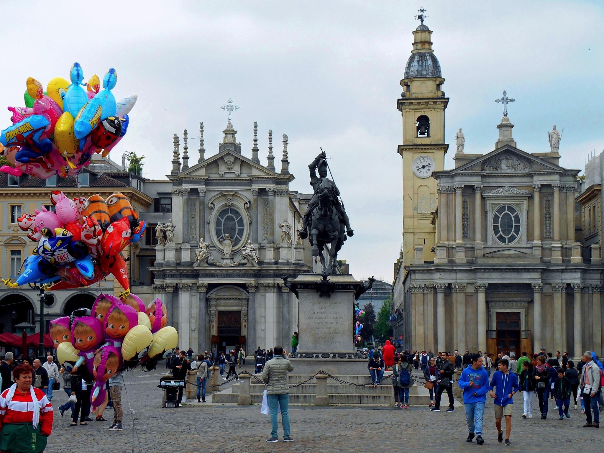 Piazza San Carlo by Piercarlo Bedino