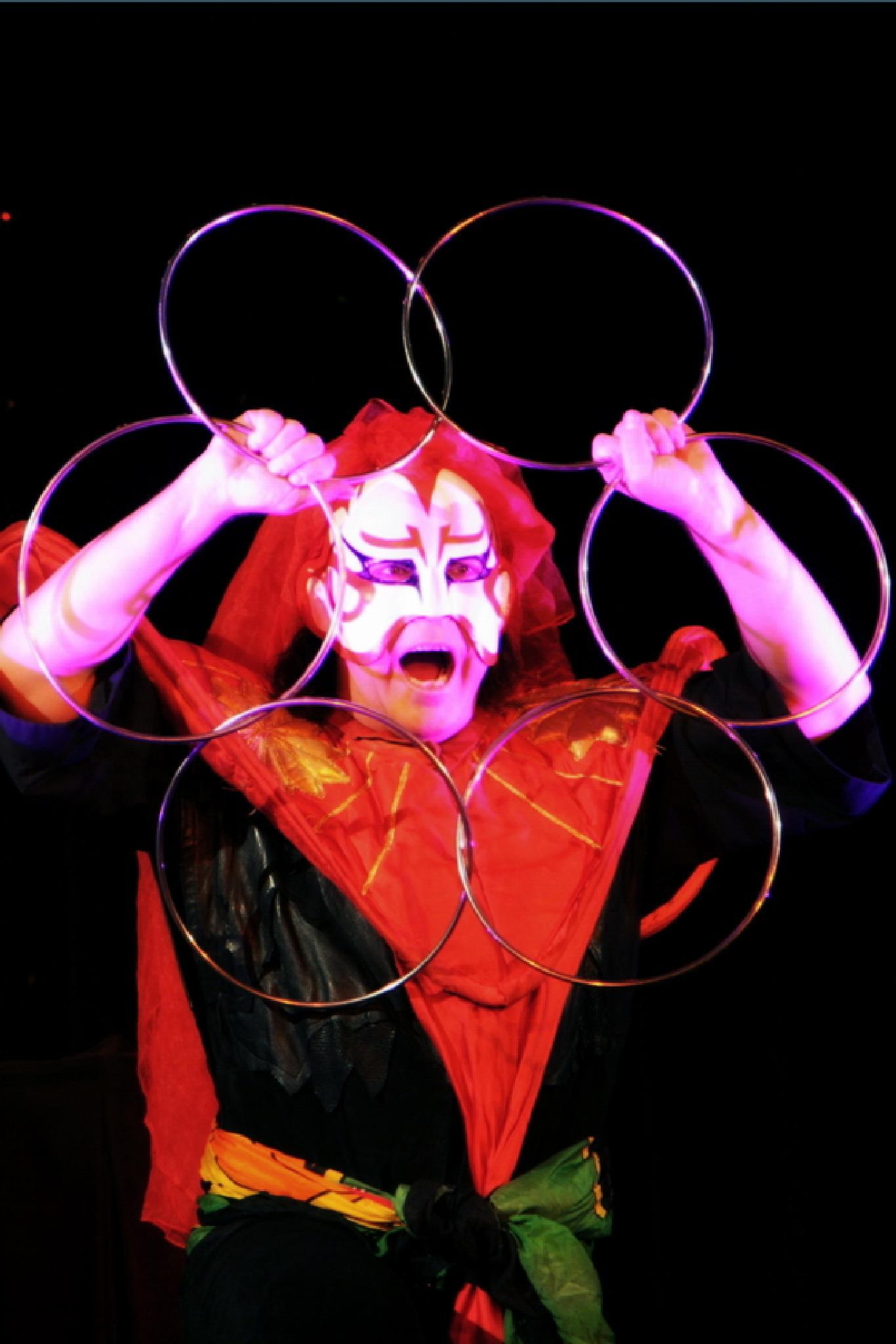 Magician Jeff McBride by Marcus O'Brian