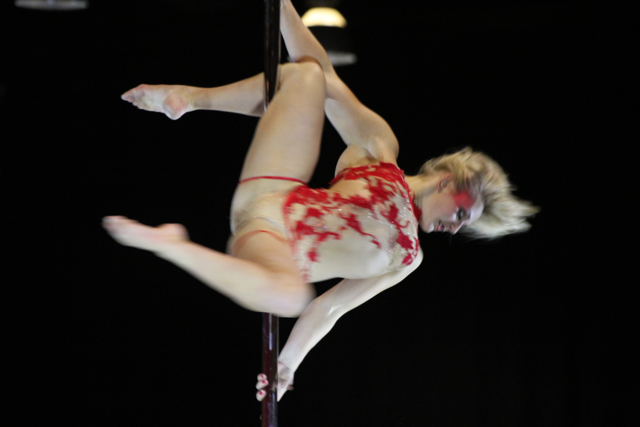 Pole dancer by gary.macnicol