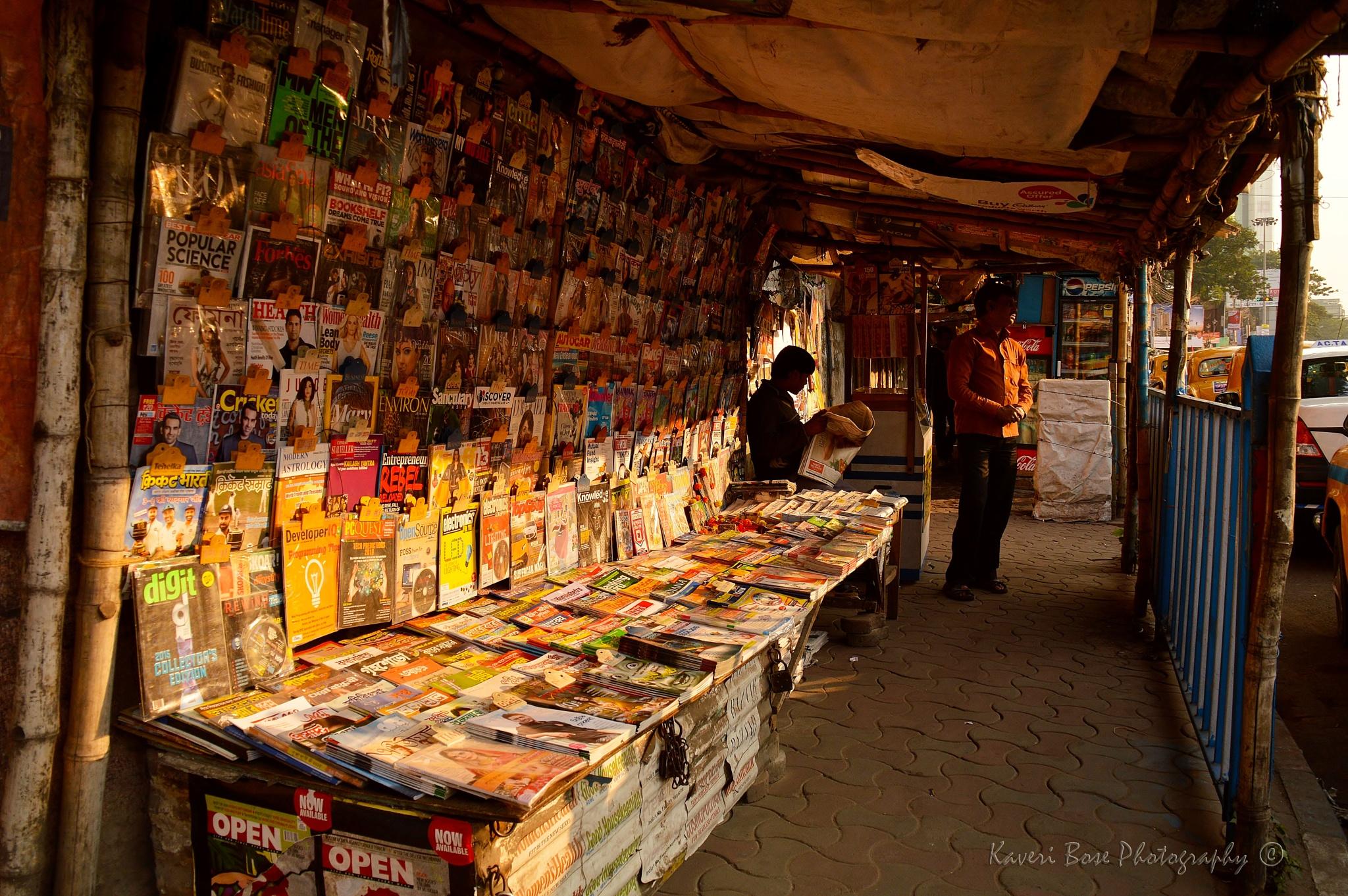 Colorful News by Kaveri Bose