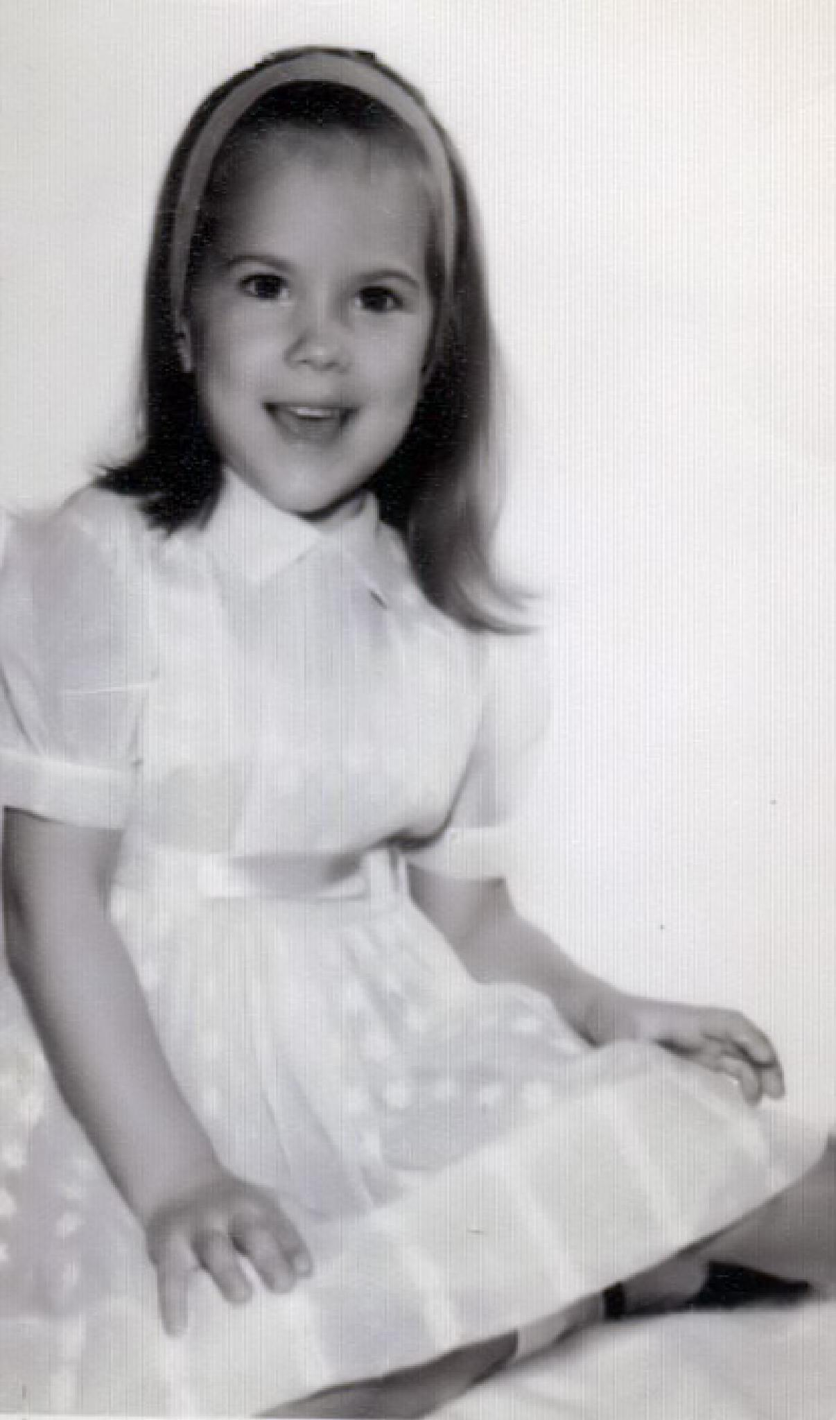 Linda at 4 years old or so. by linda.forgiarini